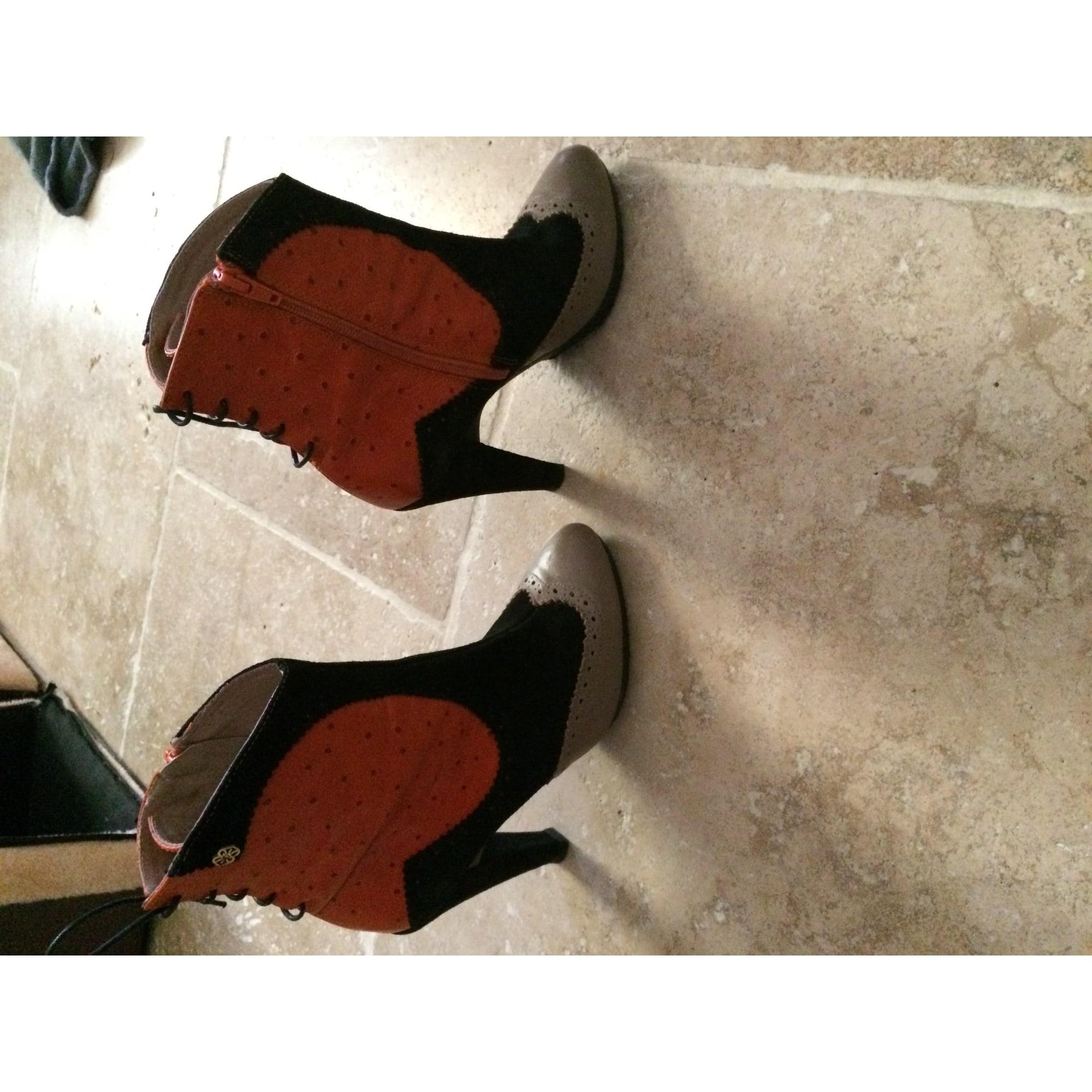Bottines & low boots à talons CUPLÉ Multicouleur