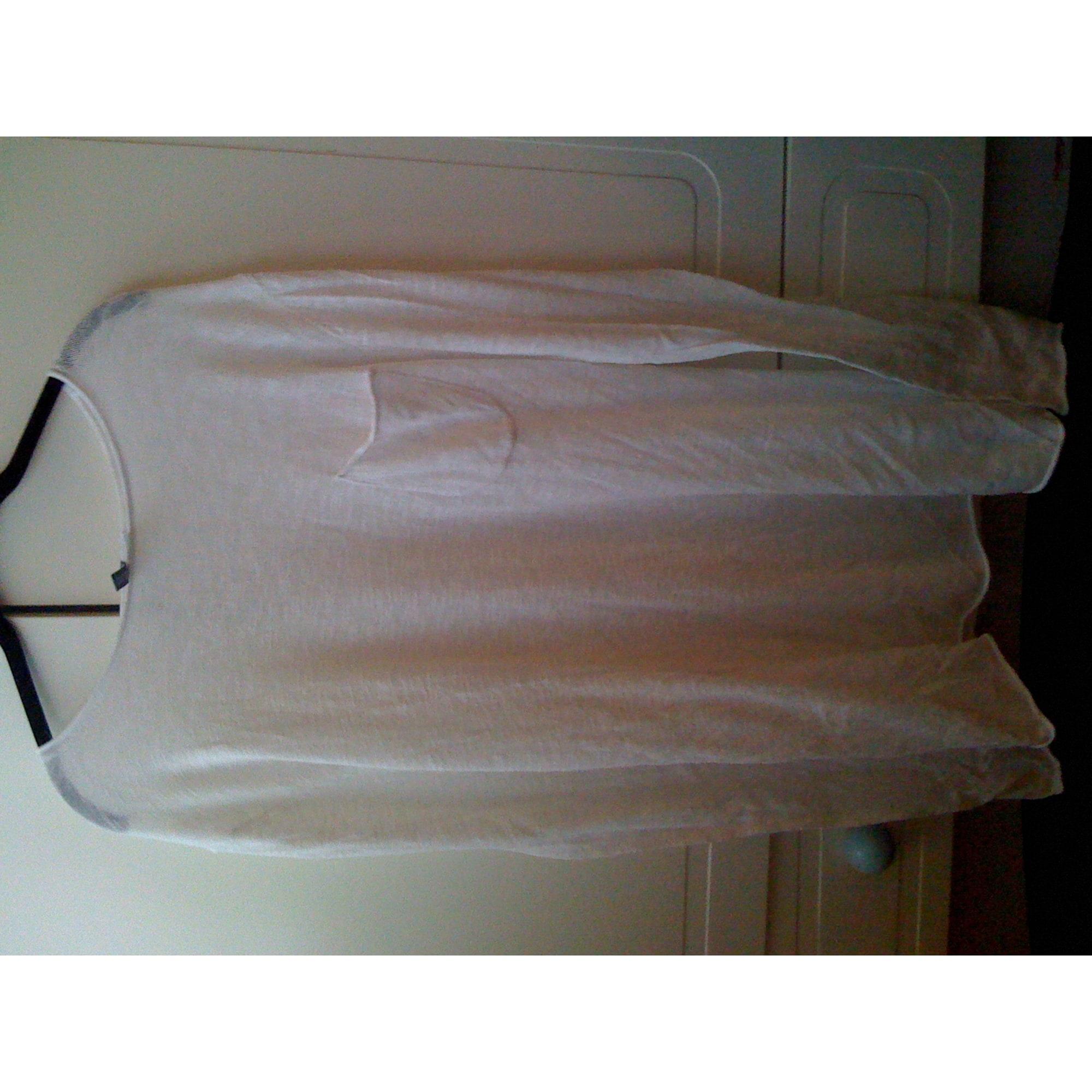 Pull H&M Blanc, blanc cassé, écru