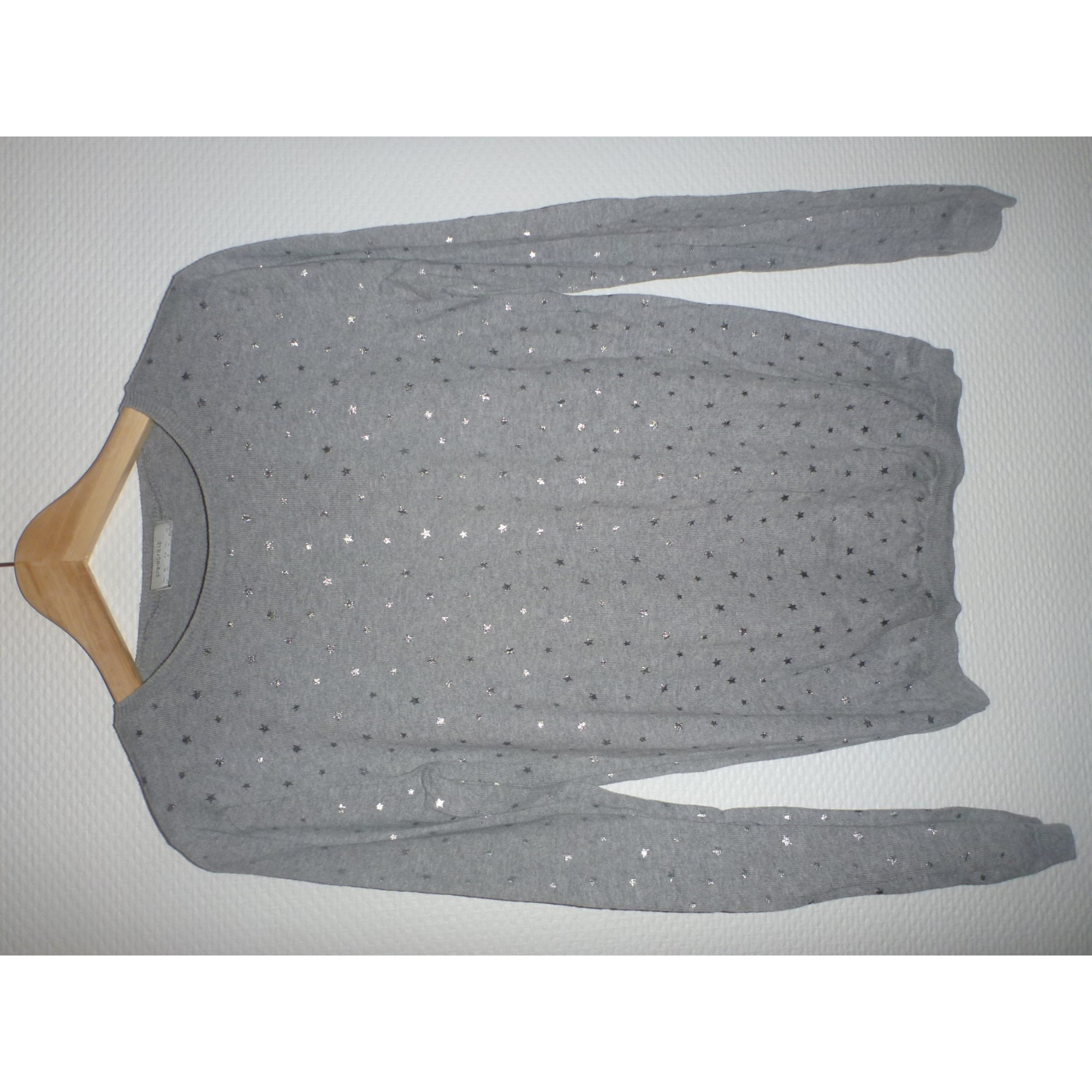 Pull SPRINGFIELD Gris, anthracite