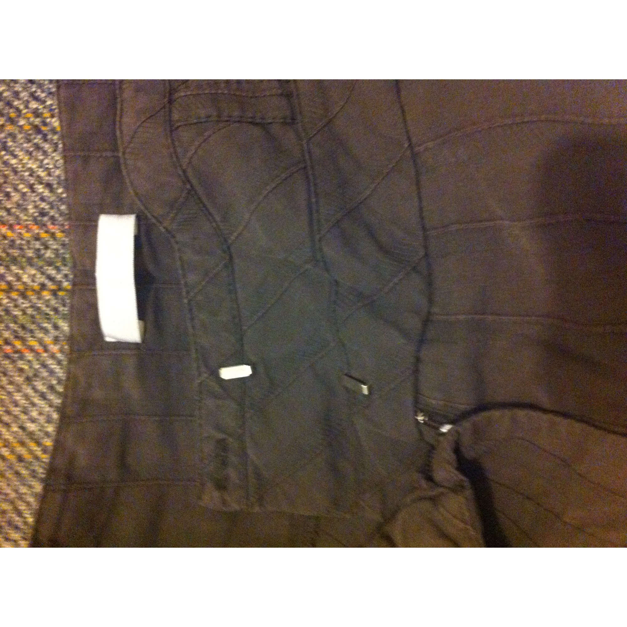 Pantalon droit PROMOD Marron