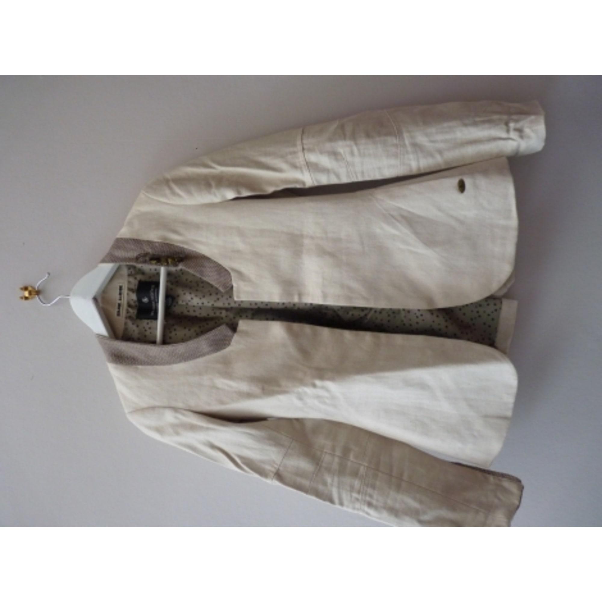 Veste MAISON SCOTCH Blanc, blanc cassé, écru