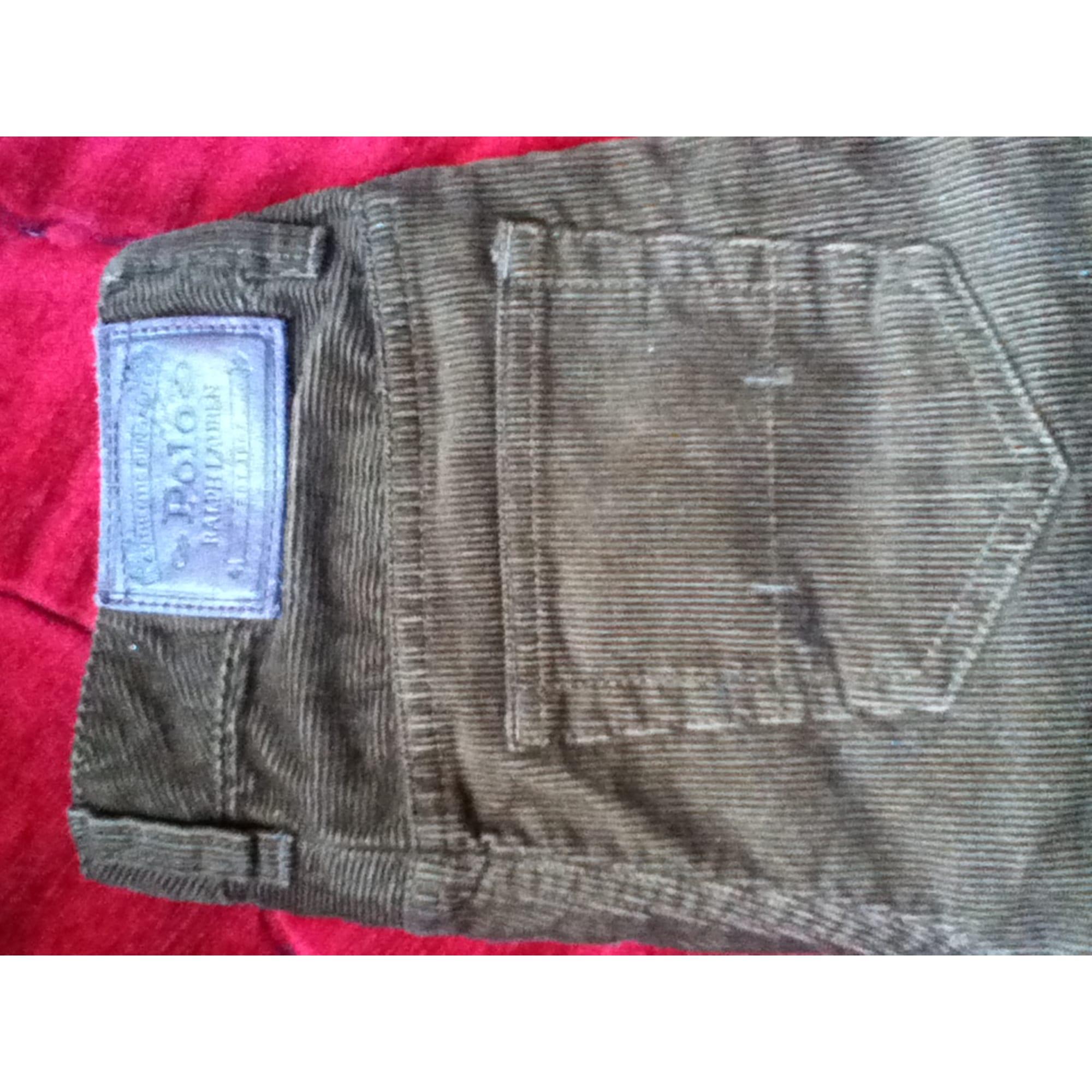 Pantalon RALPH LAUREN Marron
