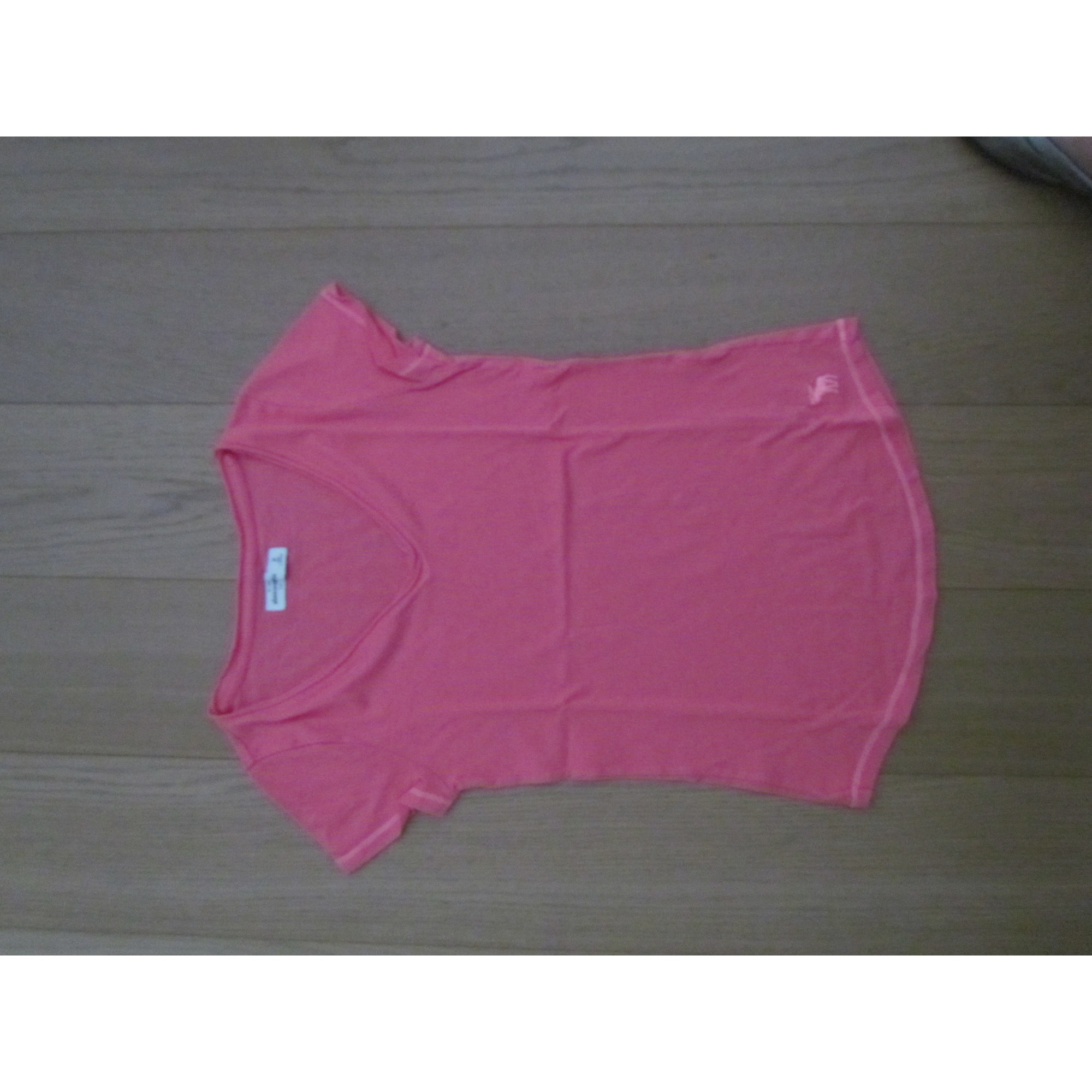 Top, Tee-shirt ABERCROMBIE & FITCH Rose, fuschia, vieux rose