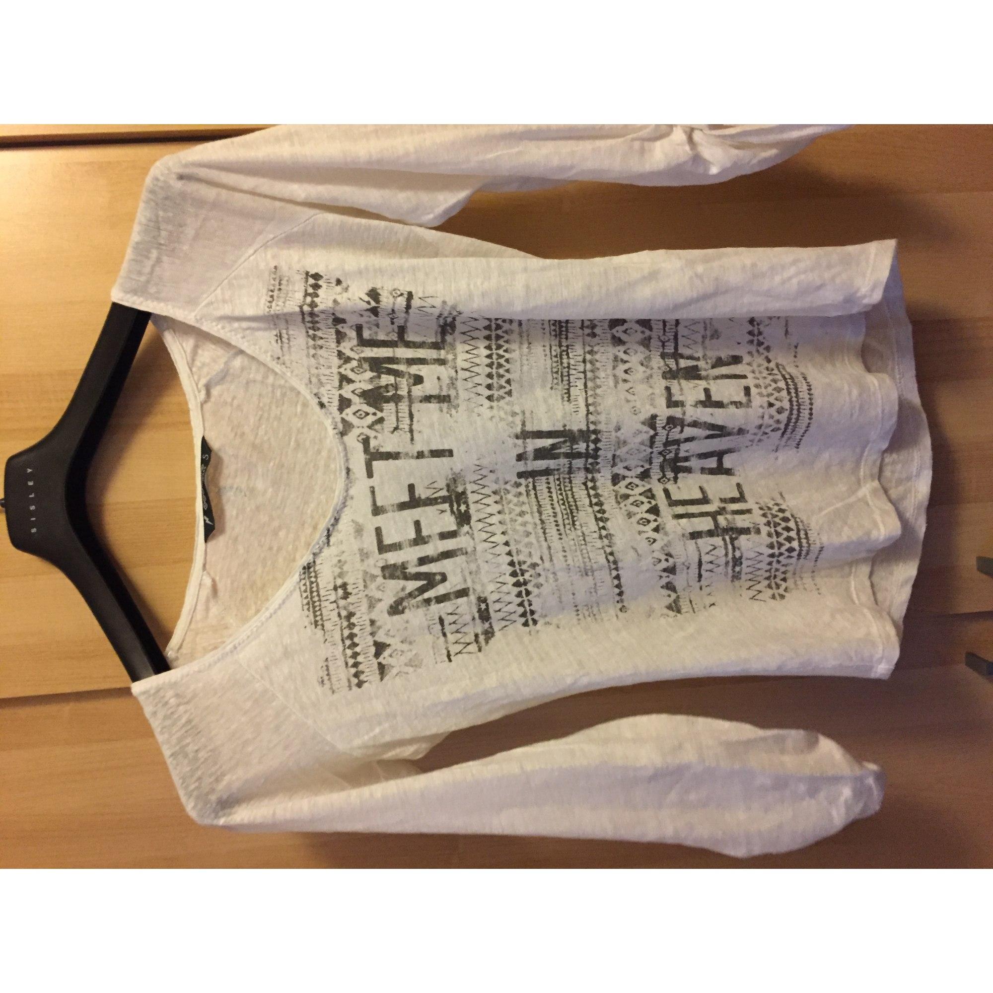 Top, tee-shirt BONOBO Blanc, blanc cassé, écru
