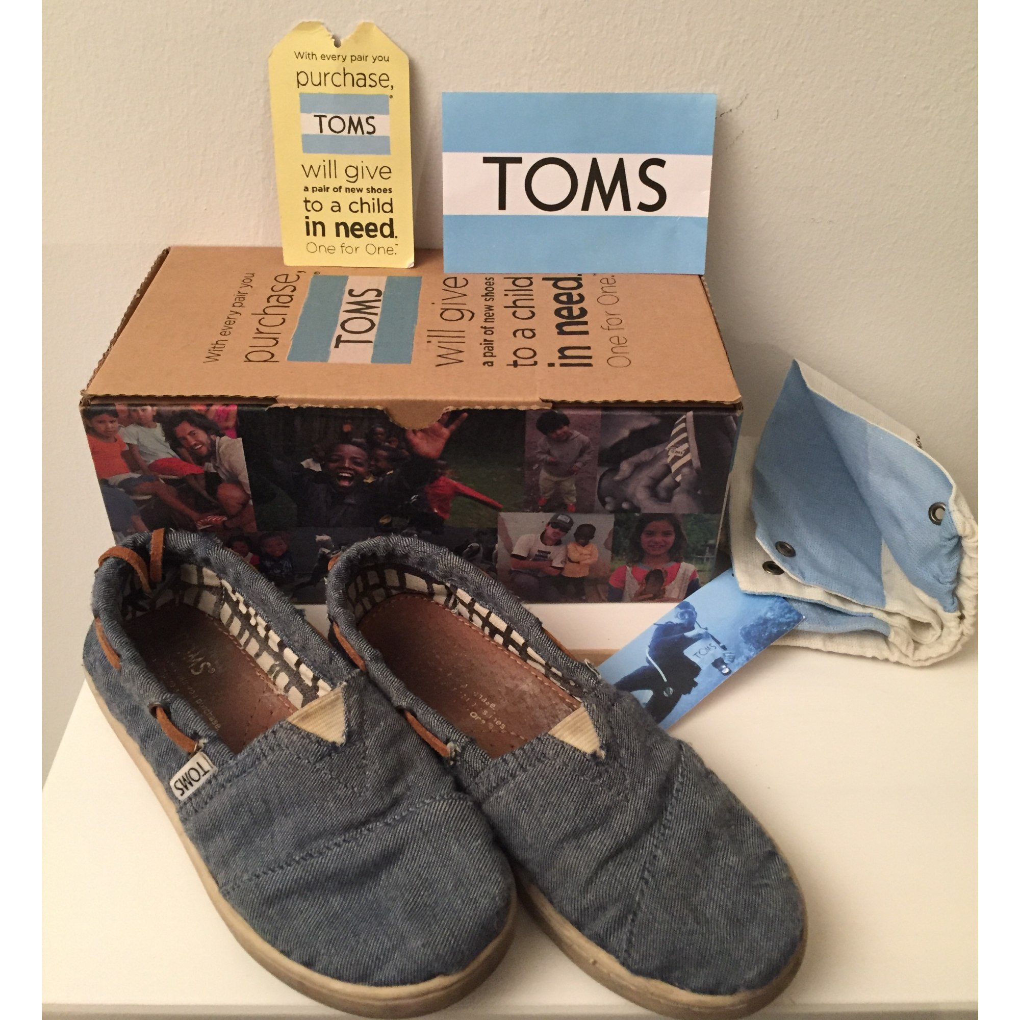 Loafers TOMS Blue, navy, turquoise