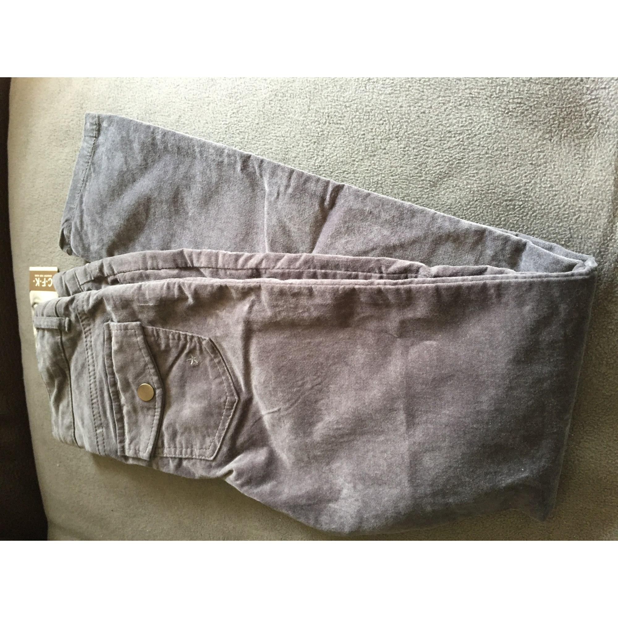 Pantalon CFK Gris, anthracite