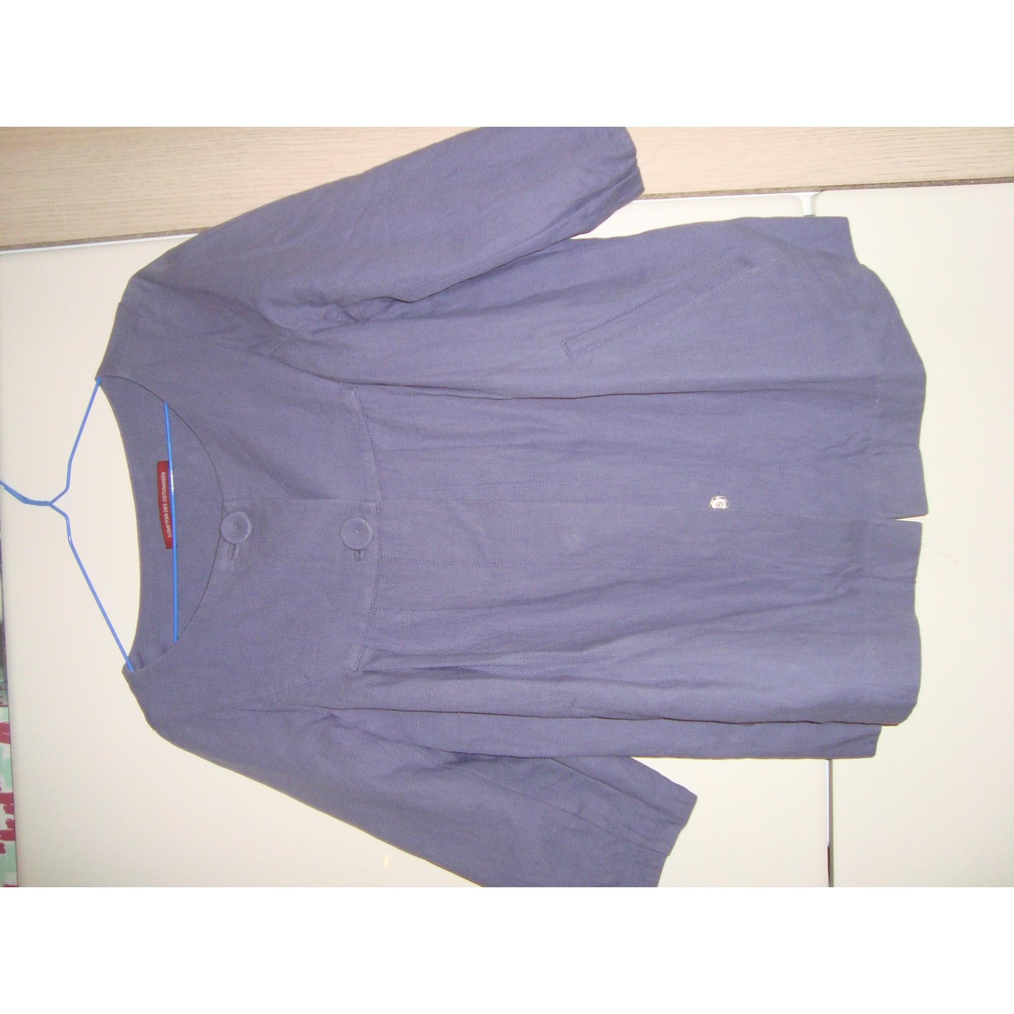 Paletot COMPTOIR DES COTONNIERS Violet, mauve, lavande