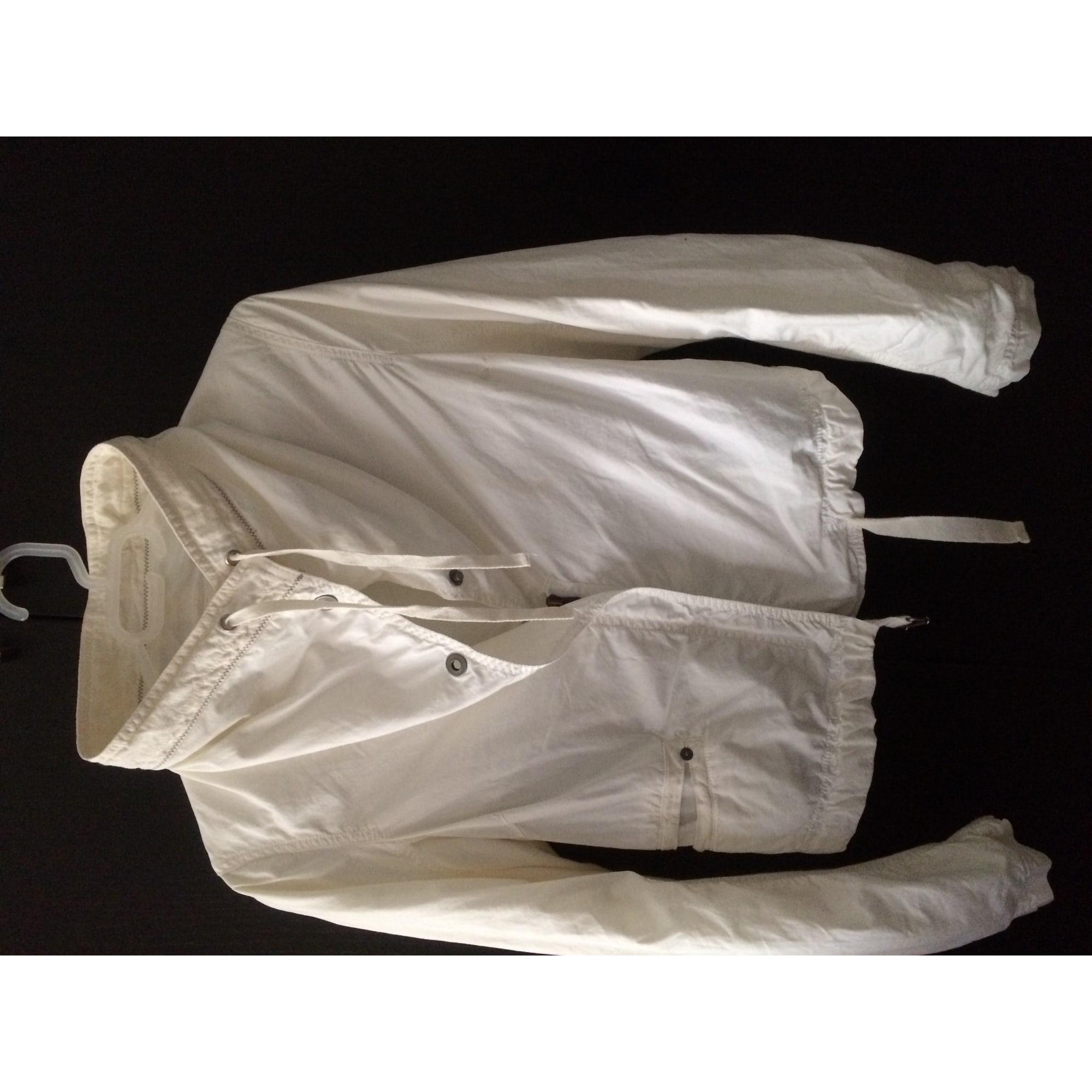 Blouson IKKS Blanc, blanc cassé, écru