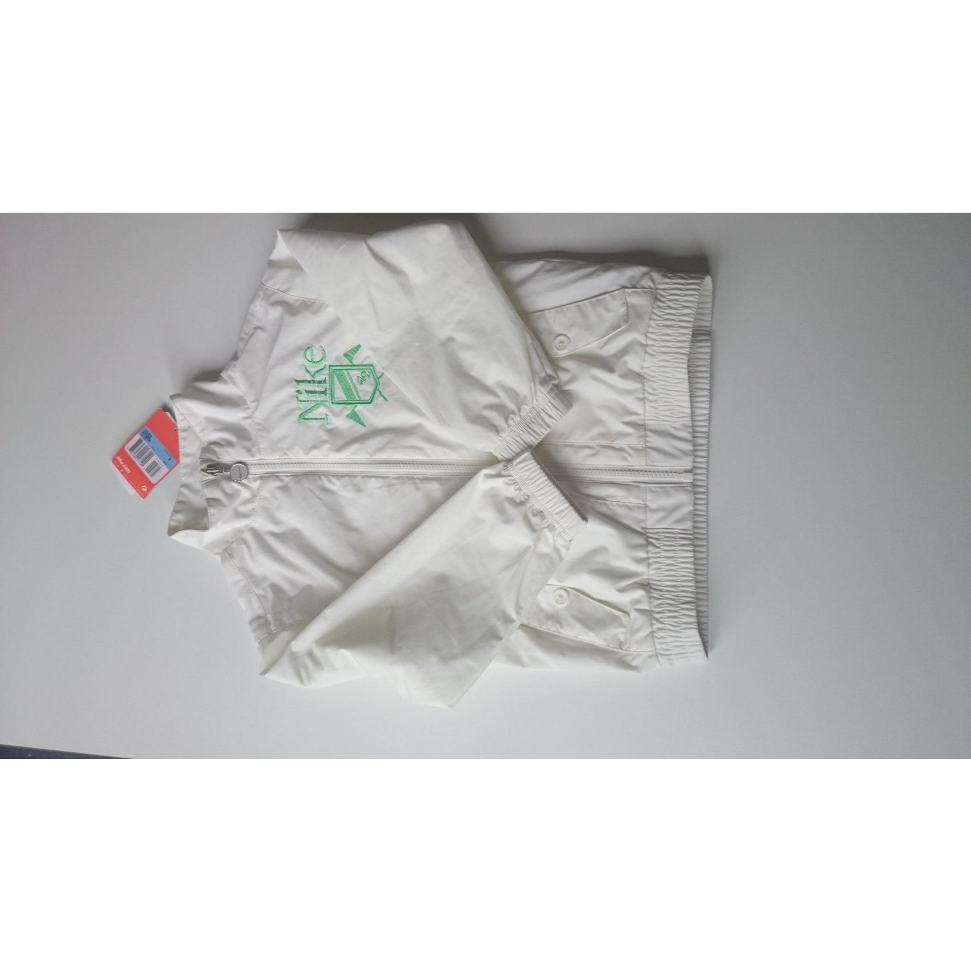 Coupe-vent NIKE Blanc, blanc cassé, écru