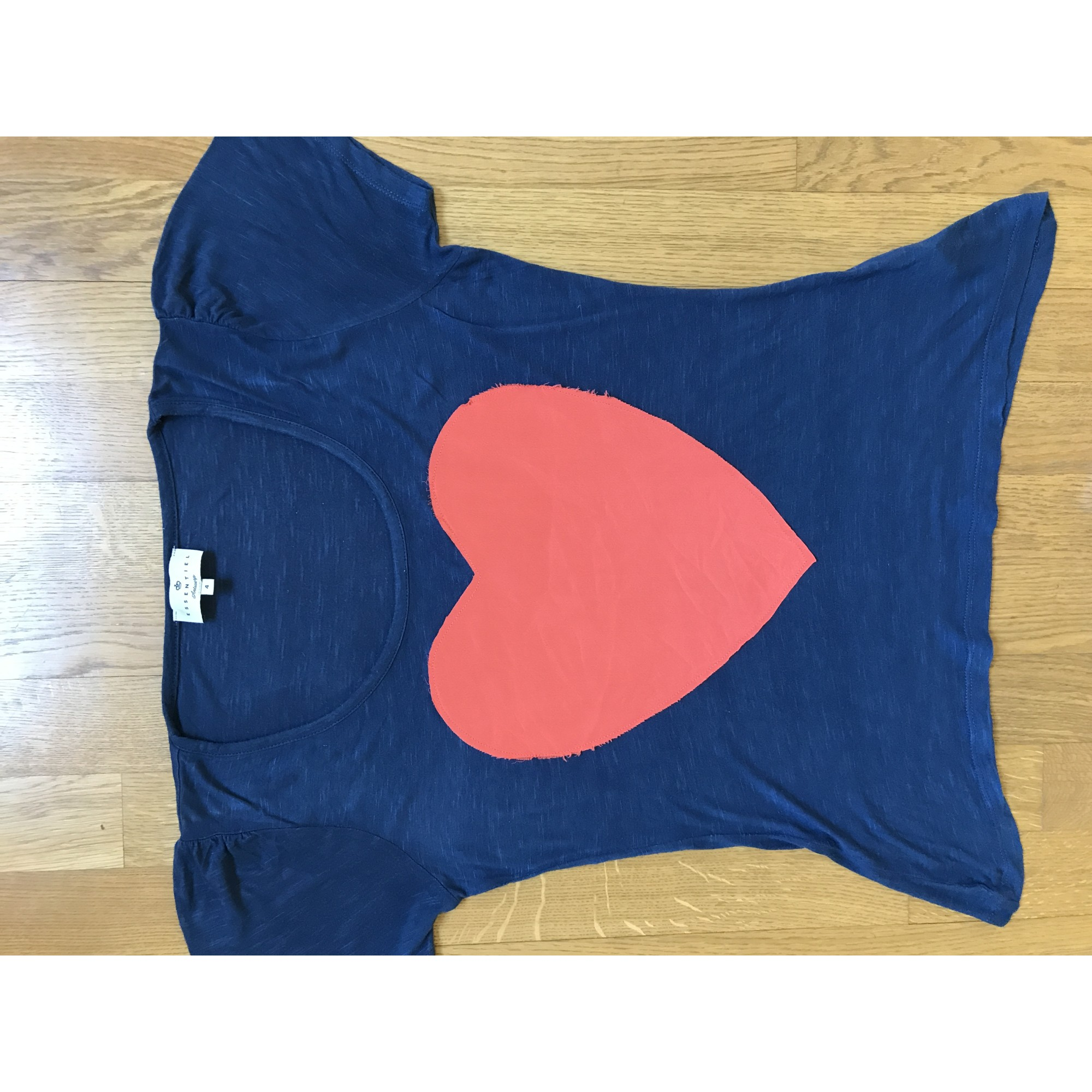 Top, tee-shirt ESSENTIEL ANTWERP Bleu, bleu marine, bleu turquoise