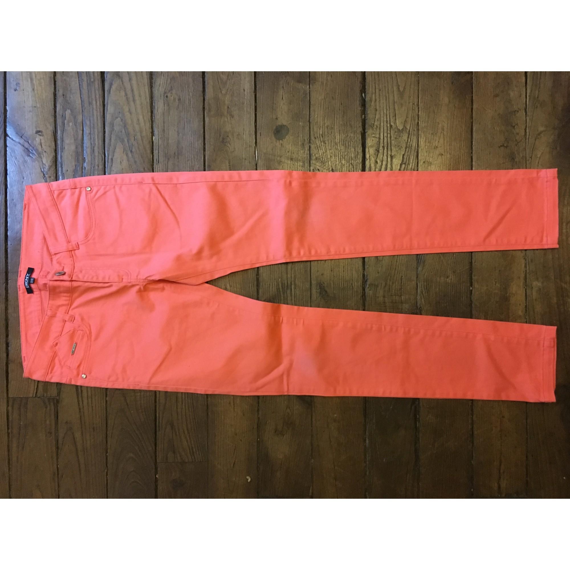 Pantalon DKNY Rose, fuschia, vieux rose