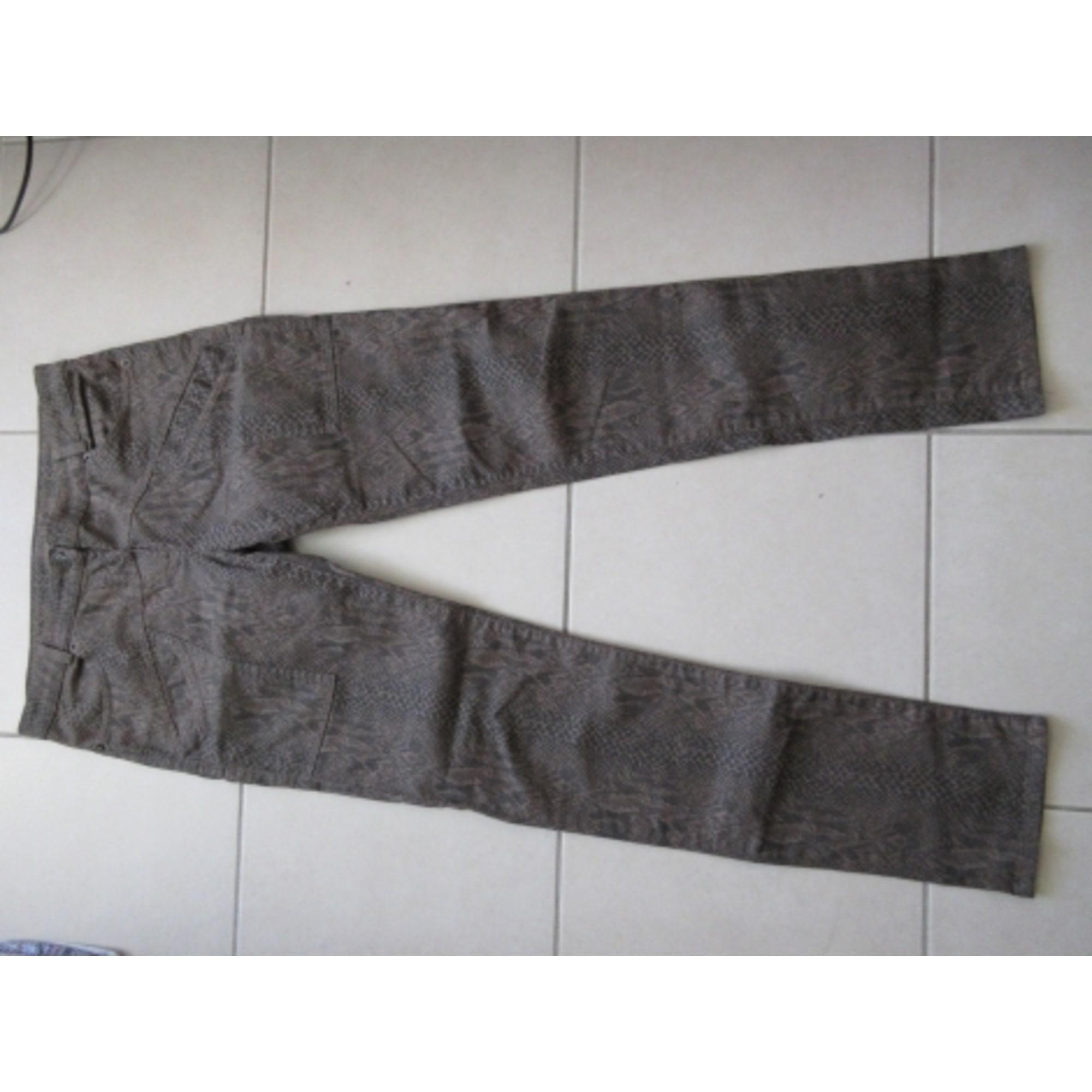 Pantalon droit TRICOT CHIC Imprimés animaliers