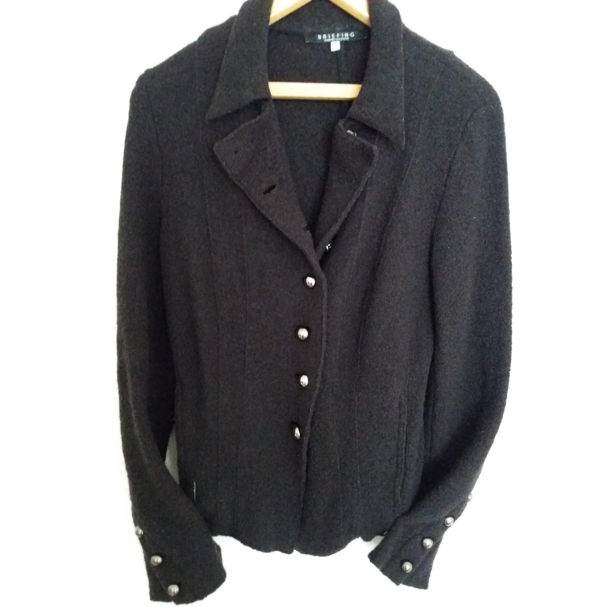 Blazer, veste tailleur BRIEFING Marron