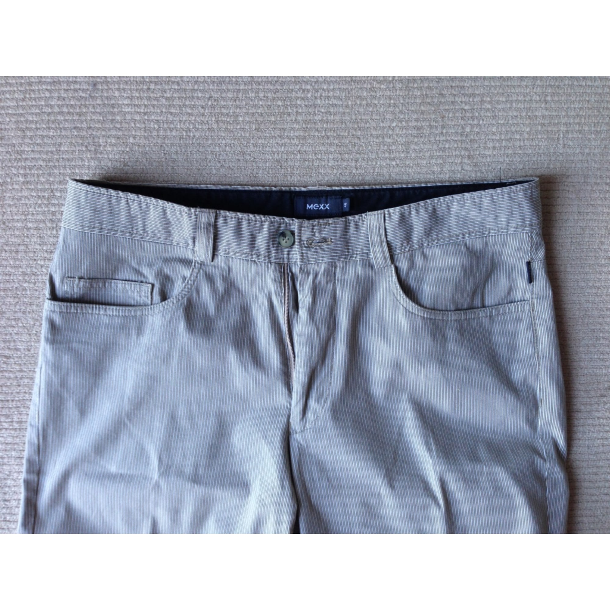 Pantalon droit MEXX Beige, camel