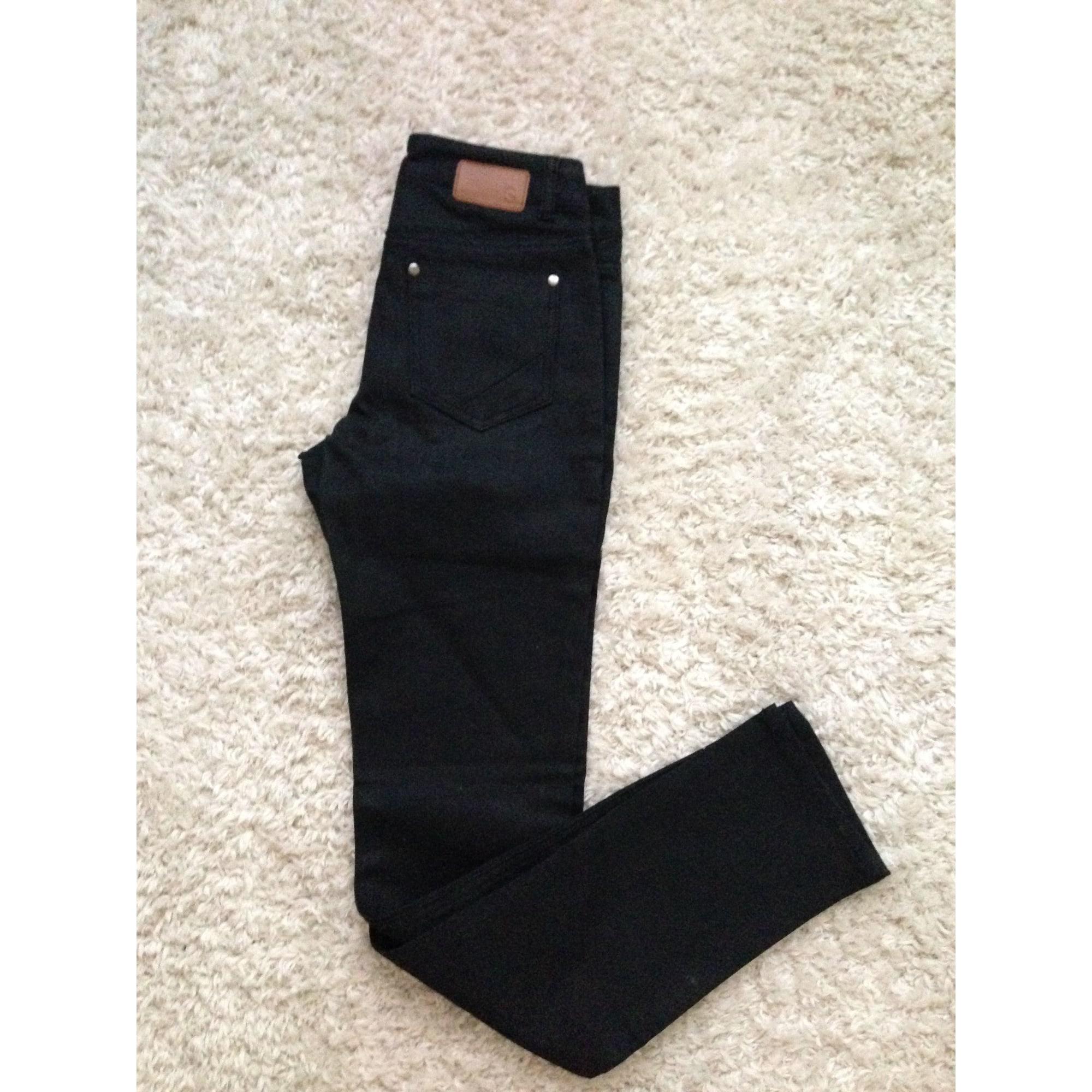 Pantalon droit 3 SUISSES Noir