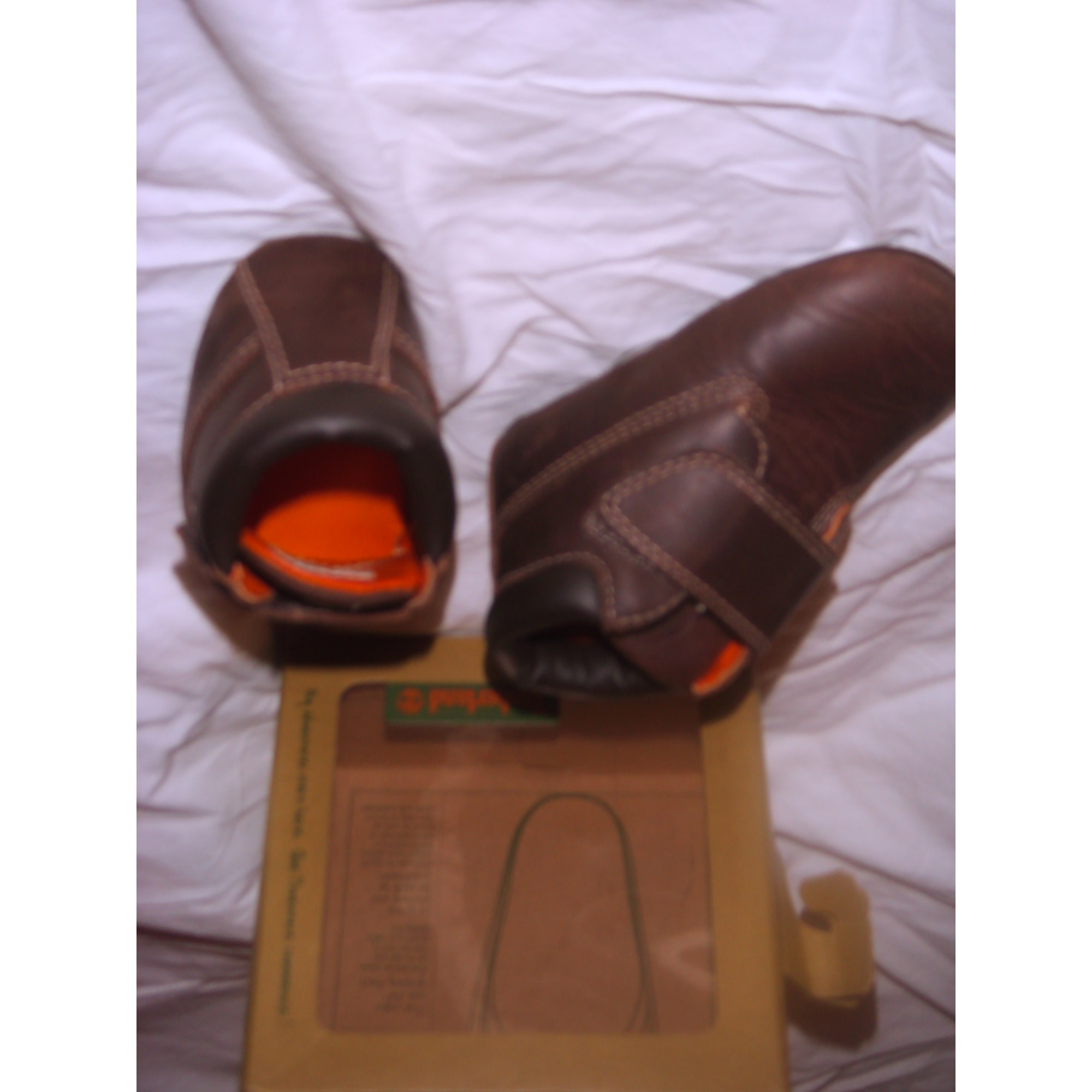Velcro Shoes TIMBERLAND Brown