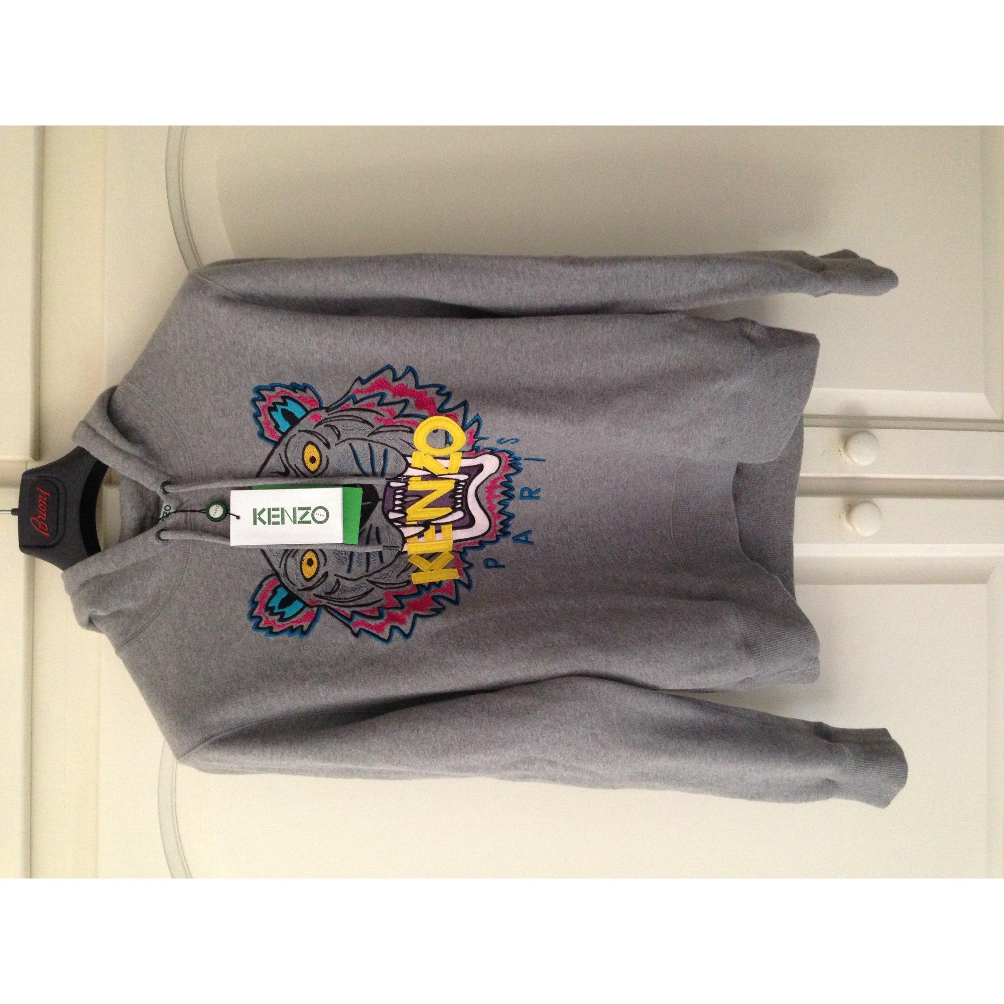 Sweat KENZO 2 (M) gris vendu par Le vide-dressing luxe- - 1331519 f930b663d99