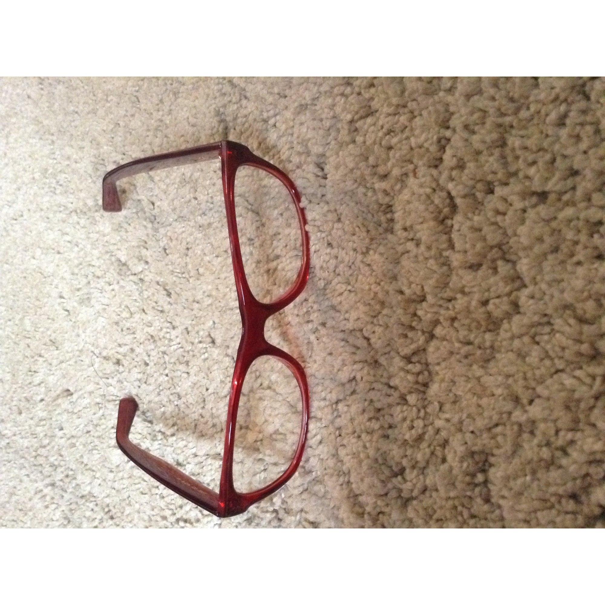Monture de lunettes GÉNÉRALE D OPTIQUE rouge - 2780695 e3303d559cea
