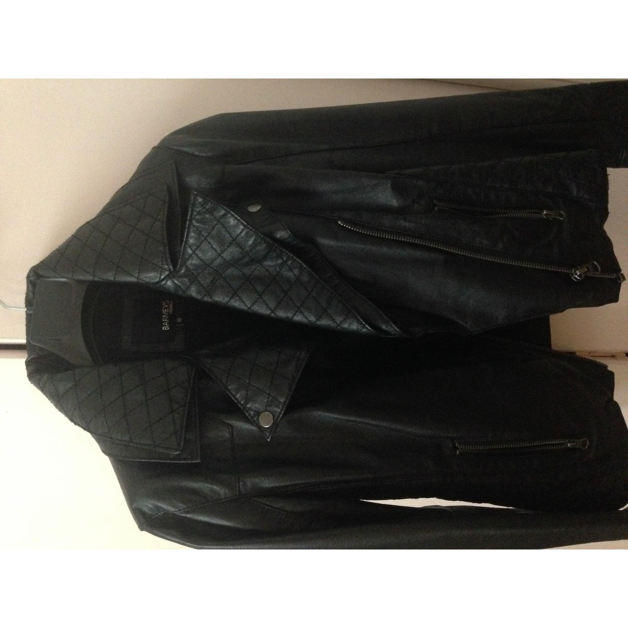 Vendu Vendu Vendu Barneys Cuir Originals Veste T2 Noir Noir Noir 38 m Par En 8xvOBEw
