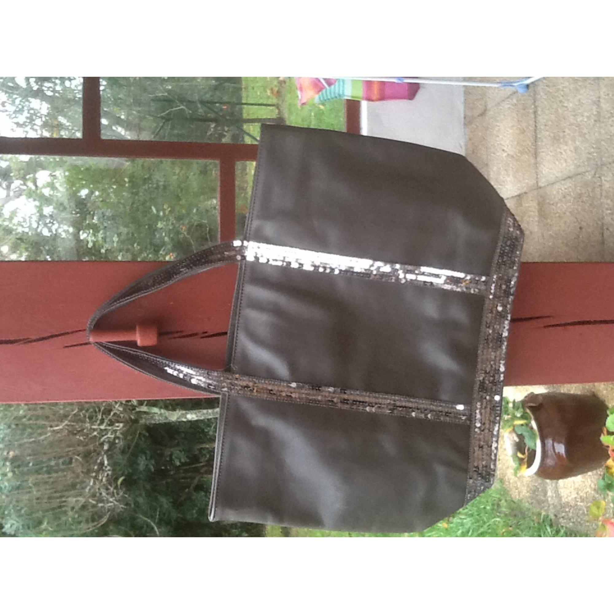 c221283b7f Sac à main en cuir VANESSA BRUNO gris vendu par Carole 57264438 ...