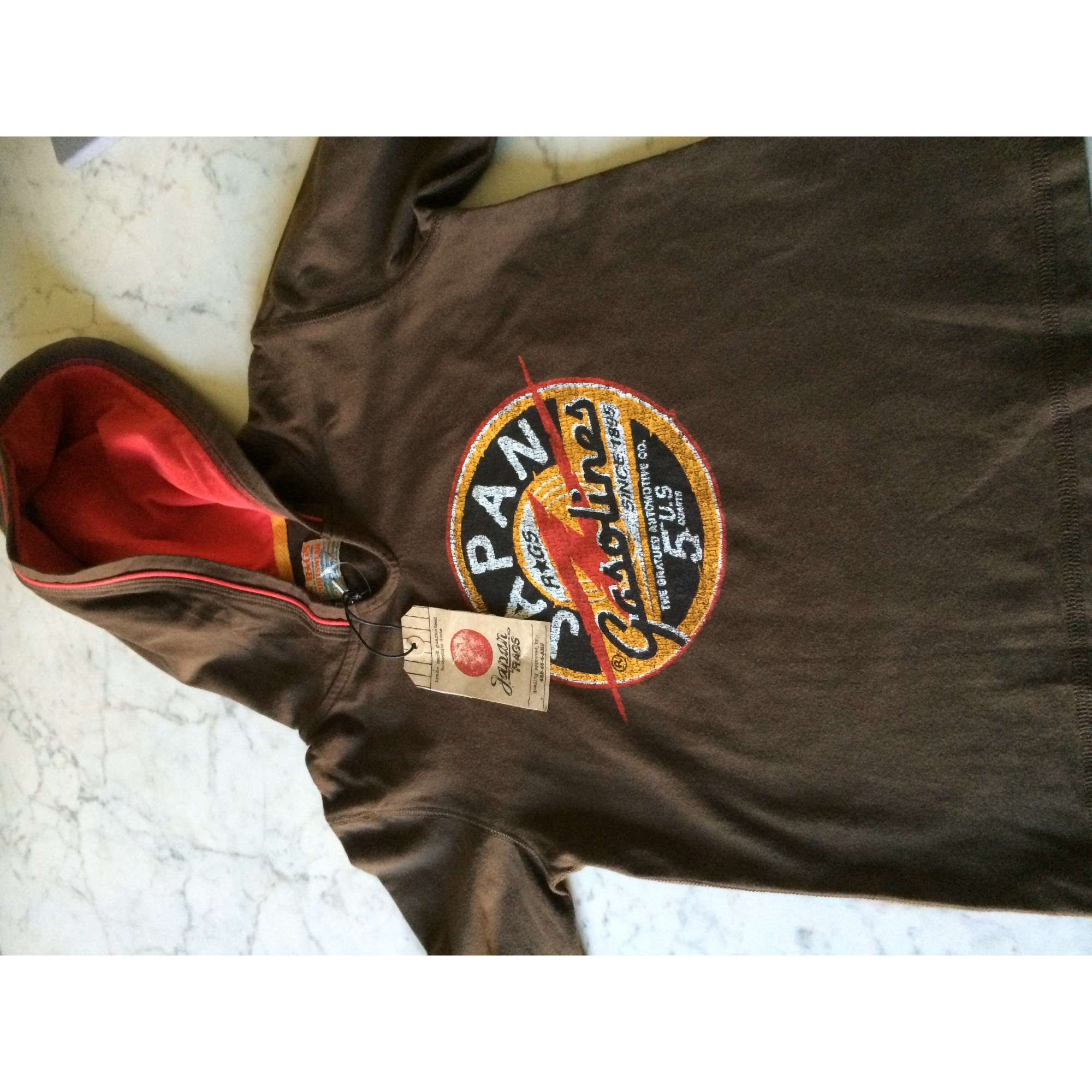 241d51d098850 Tee-shirt JAPAN RAGS LE TEMPS DES CERISES 5-6 ans marron ...