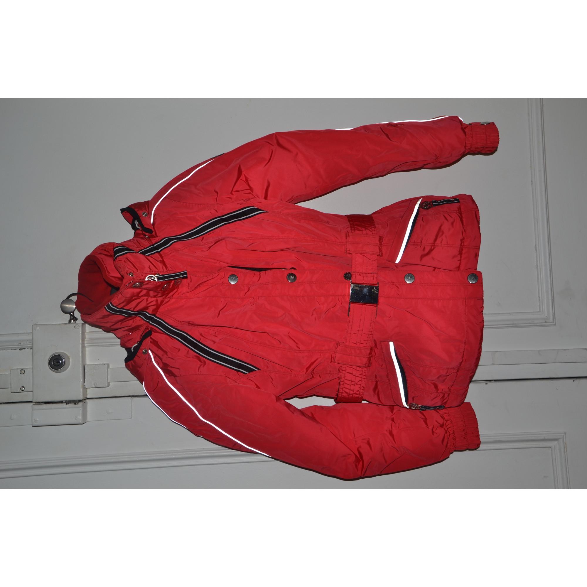 blouson de ski poivre blanc 36 s t1 rouge vendu par dressing18 3290941. Black Bedroom Furniture Sets. Home Design Ideas