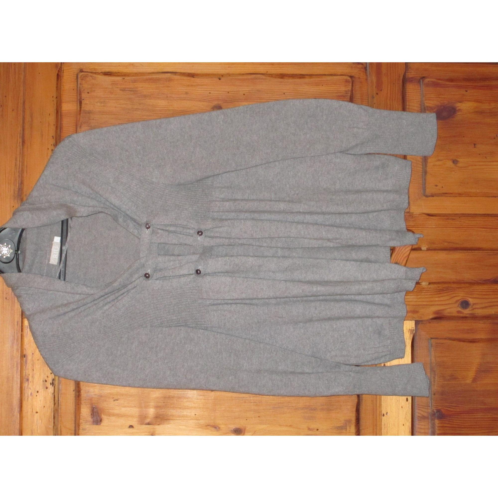 ab239a90b8ac Gilet, cardigan JACQUELINE RIU 40 (L, T3) gris - 3373968