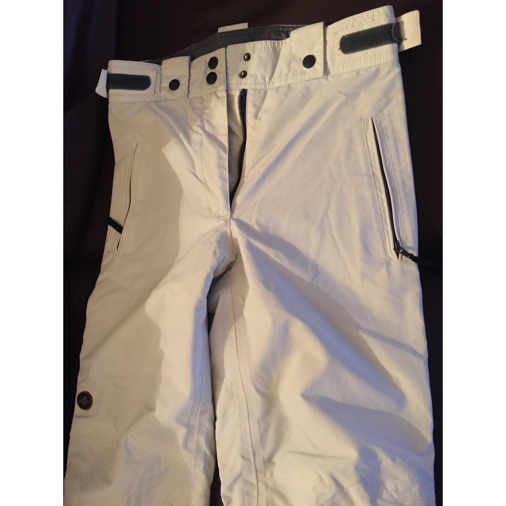 Pantalon de ski LAFUMA Blanc, blanc cassé, écru