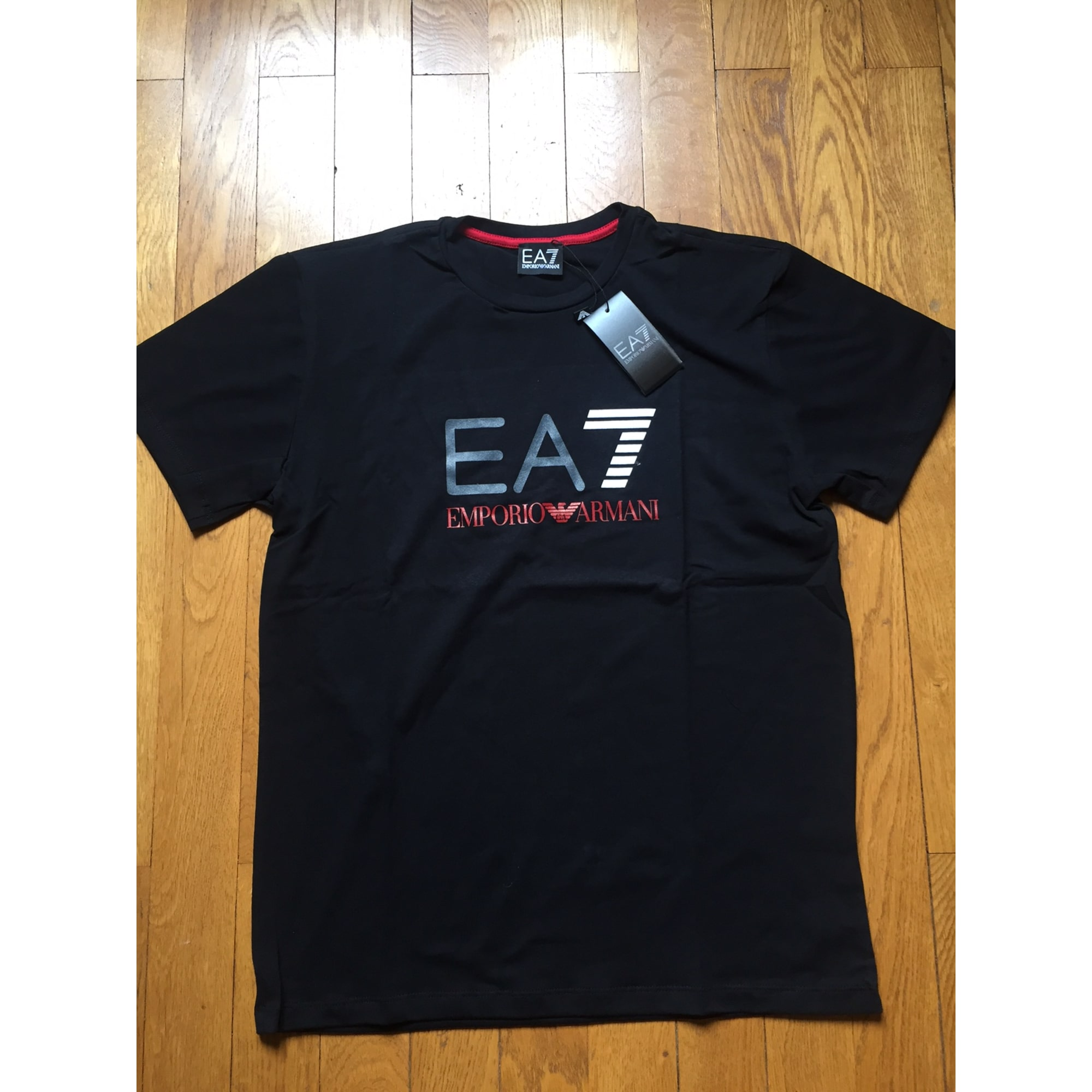 Tee-shirt ARMANI EA7 3 (L) noir vendu par Jujulelyonnais - 5516858 0fadbeb4b3a