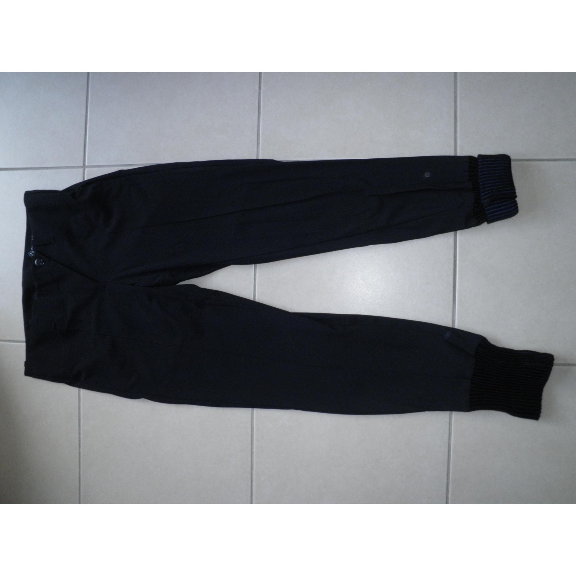 Maje Pantalon droit polyamide 36 (S, T1)