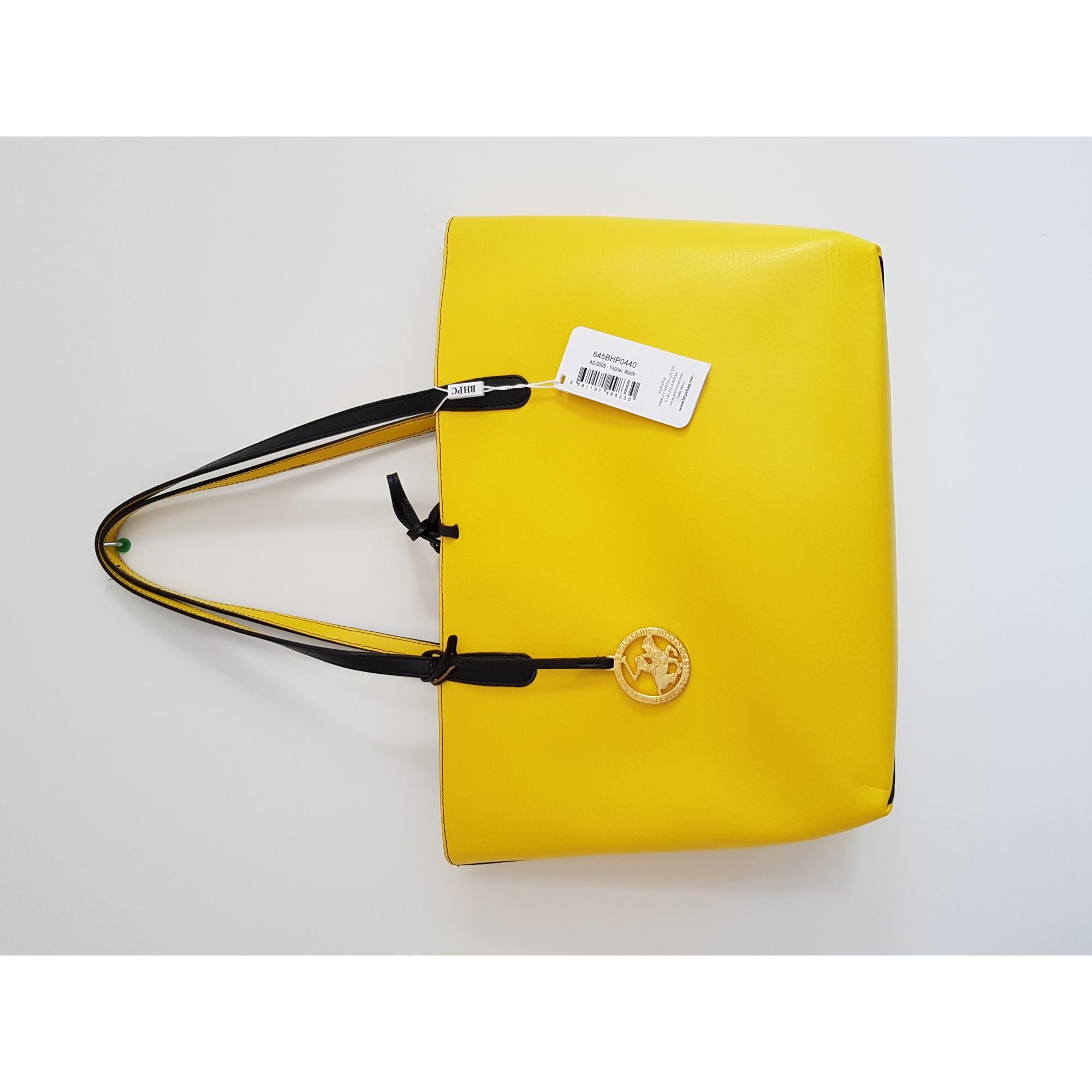 POLO BEVERLY en à vendu jaune main So HILLS cuir sweet par Sac CLUB waAYqI