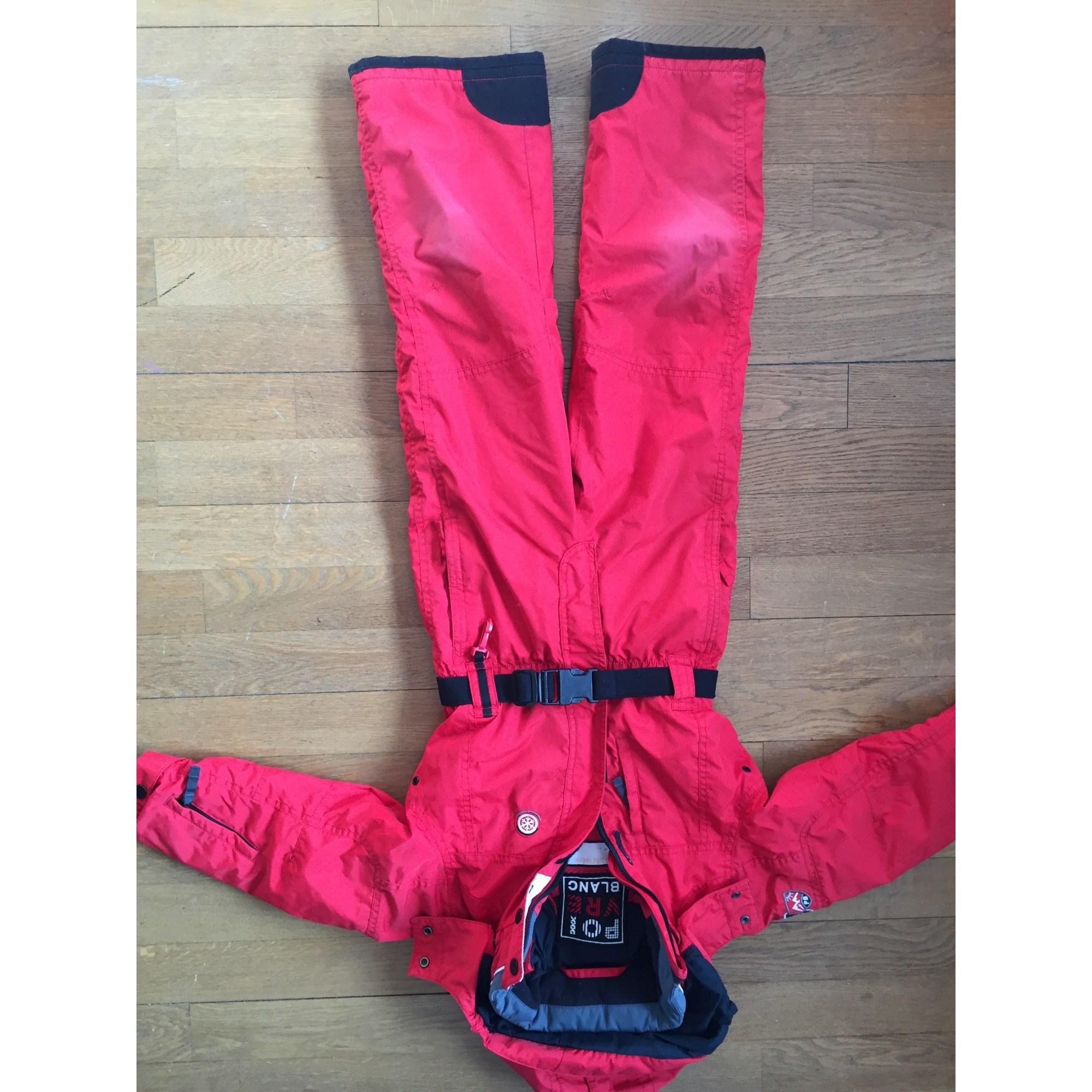 combinaison de ski poivre blanc 5 6 ans rouge 6297128. Black Bedroom Furniture Sets. Home Design Ideas