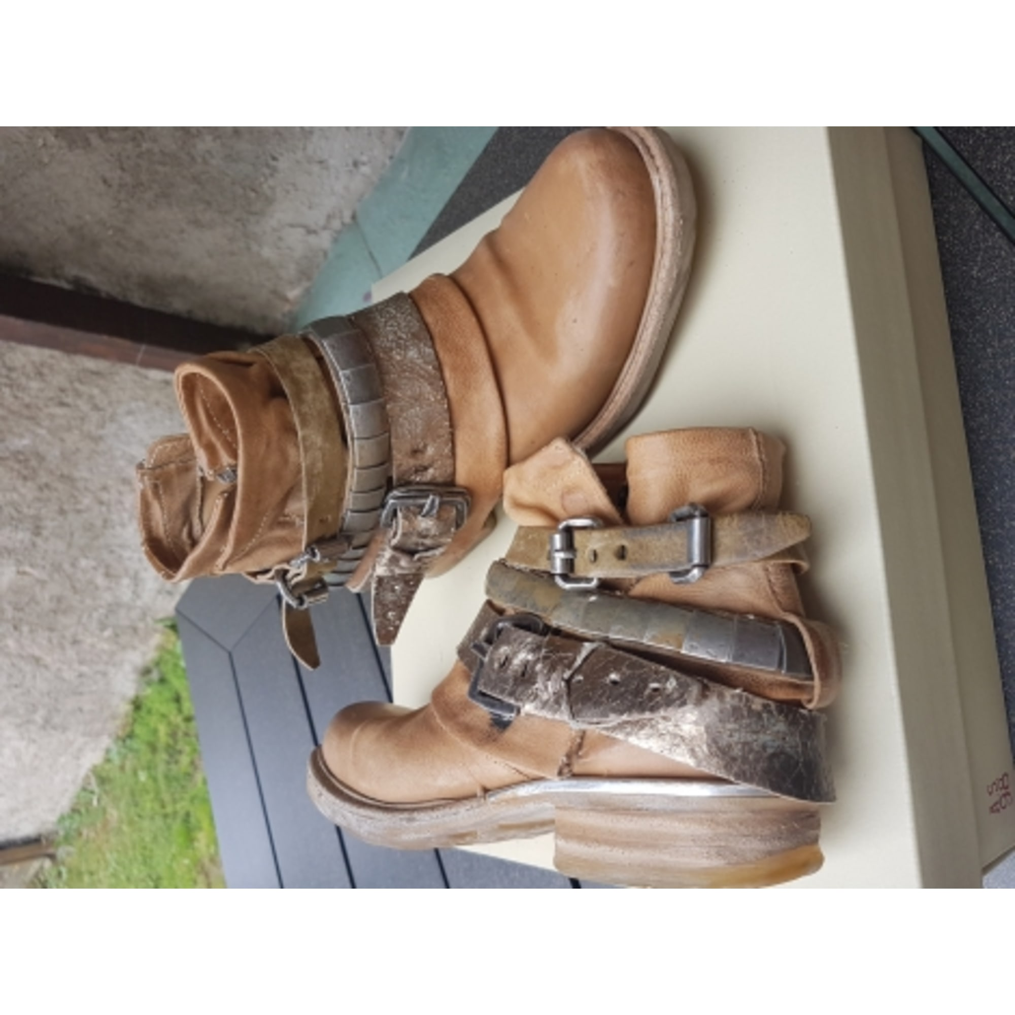 sneakers for cheap dc949 b3dde Bottines & low boots plates