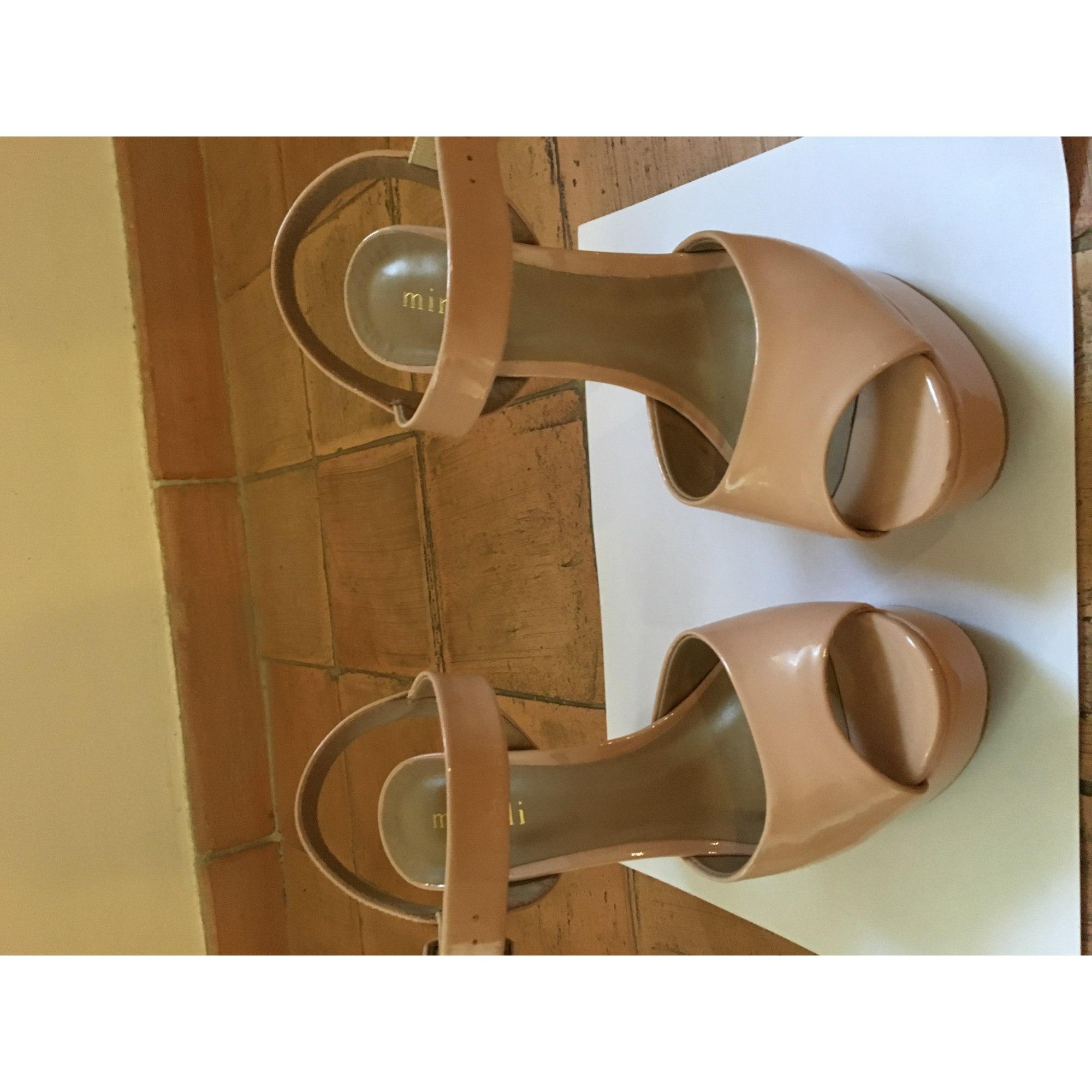 Minelli Sandales fuchsia ZALANDO.FR | Sandales à talons