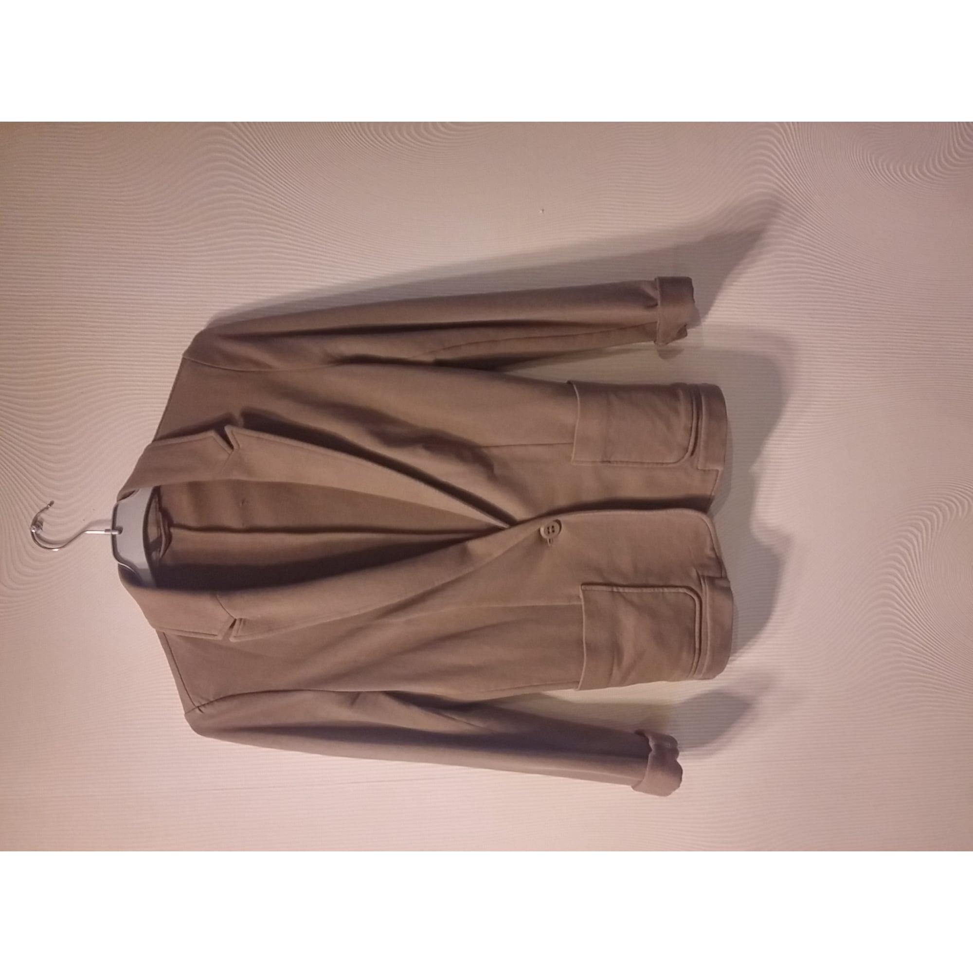 Blazer, veste tailleur BENETTON taupe