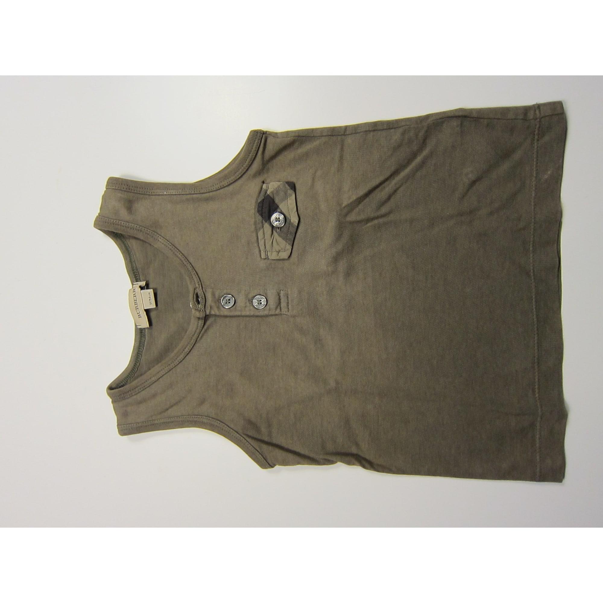 Tee-shirt BURBERRY Kaki