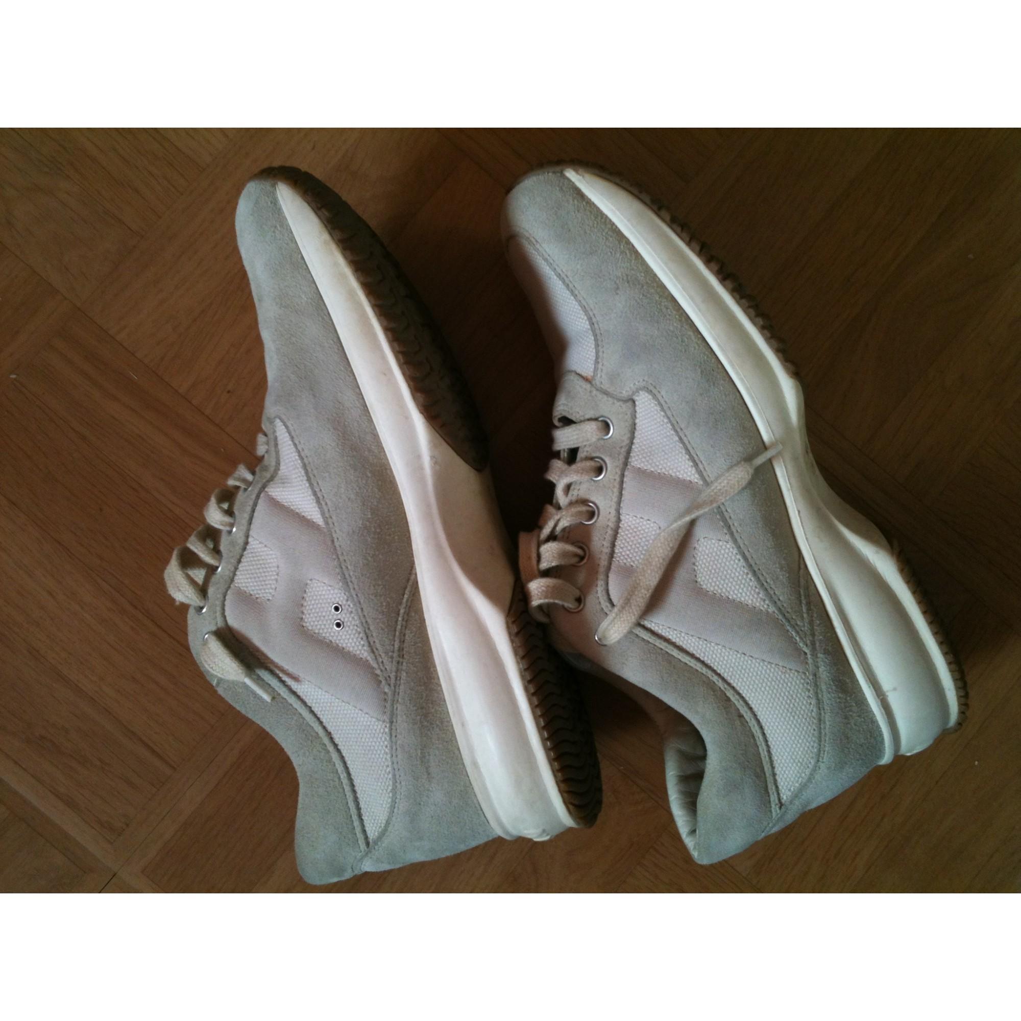 eeb3f18d1bff8 Chaussures à lacets HOGAN 38,5 gris vendu par Psyky124948 - 712286