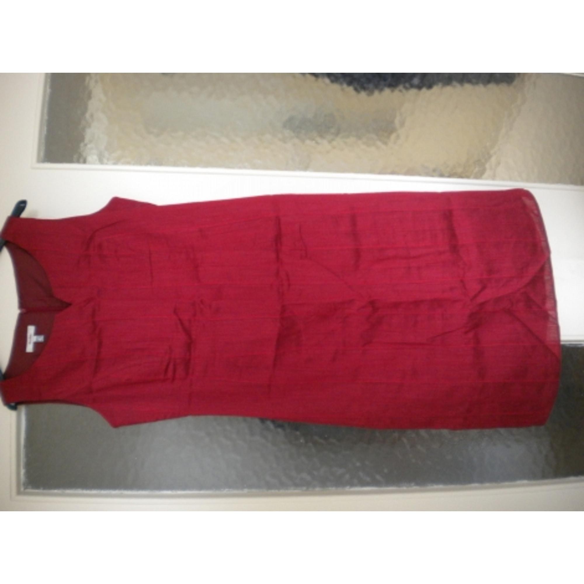 Robe longue rouge burton