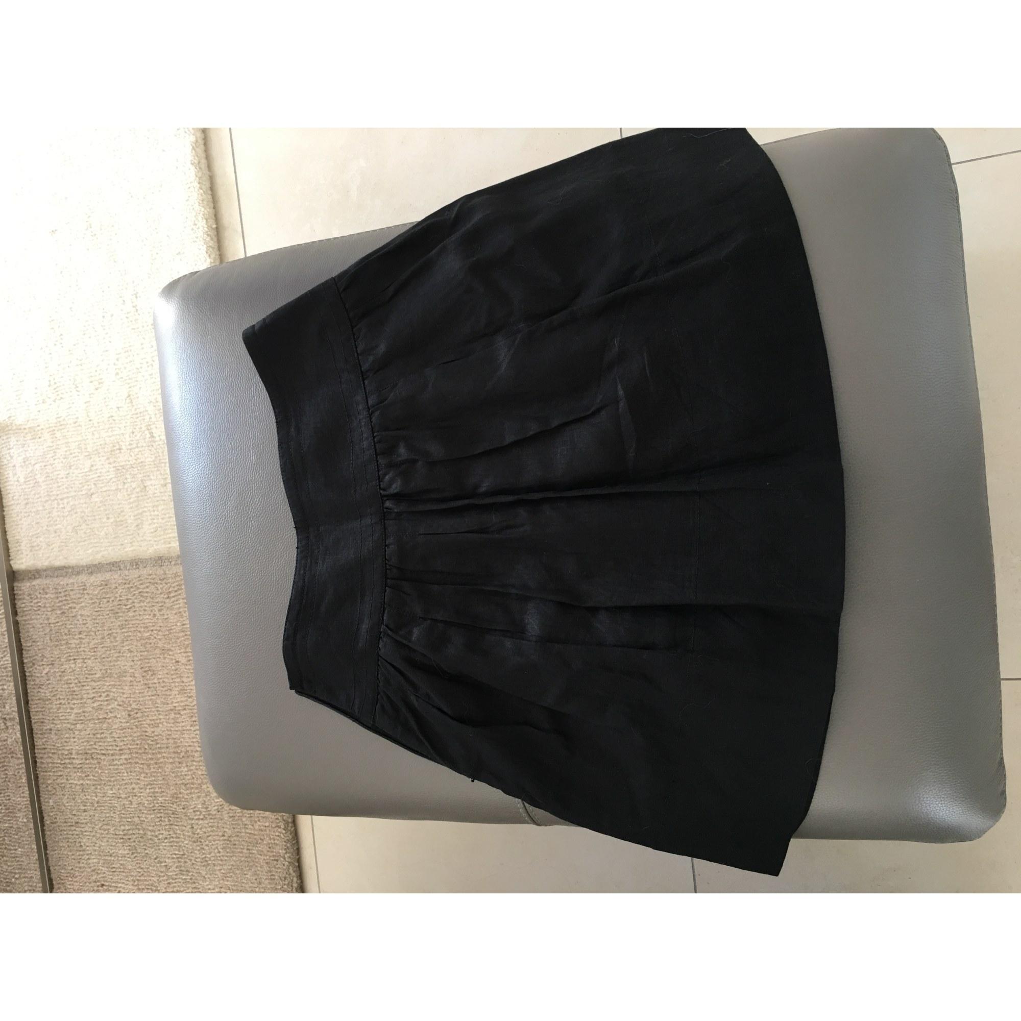 Jupe courte ALAIN MANOUKIAN Noir