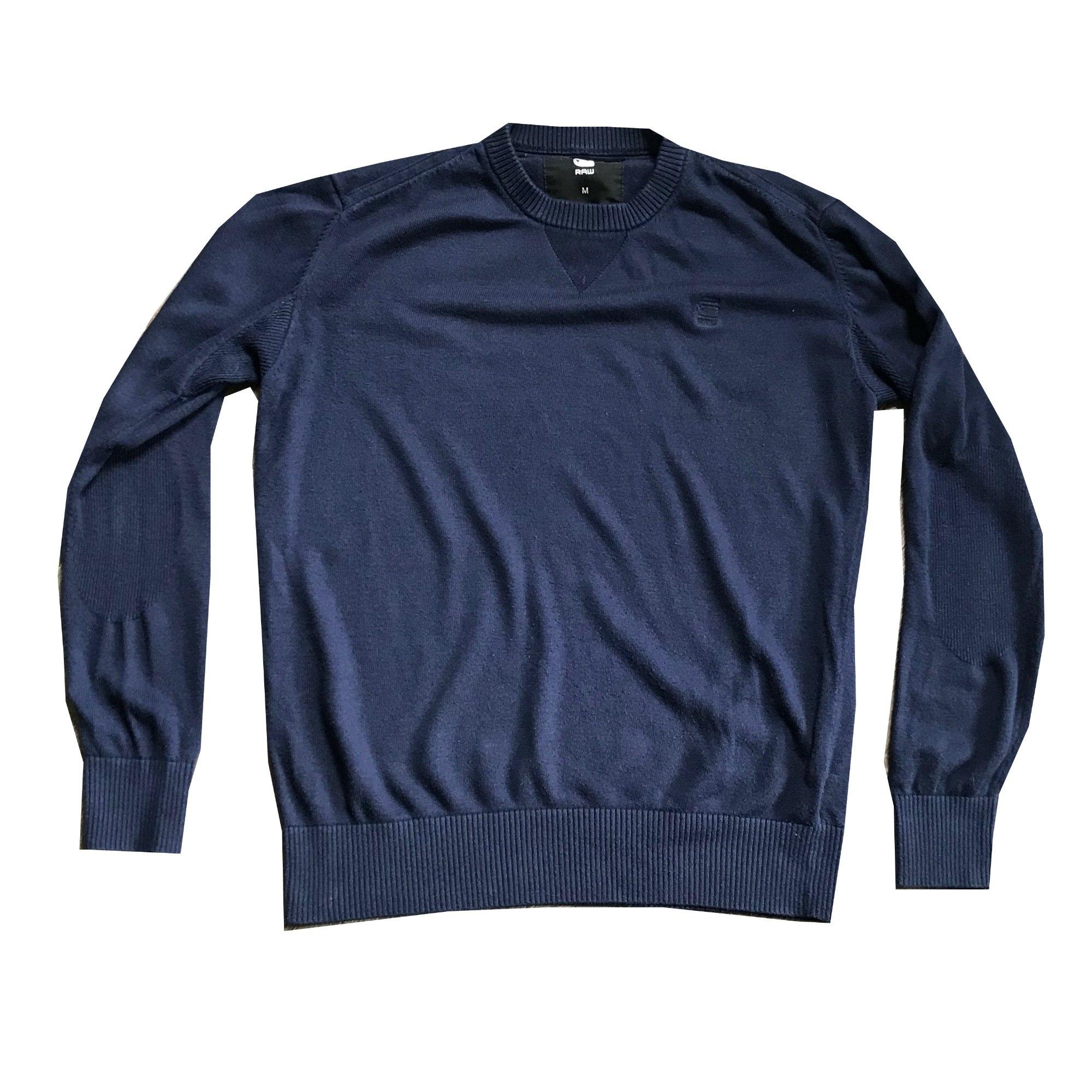 Pull G-STAR Bleu, bleu marine, bleu turquoise