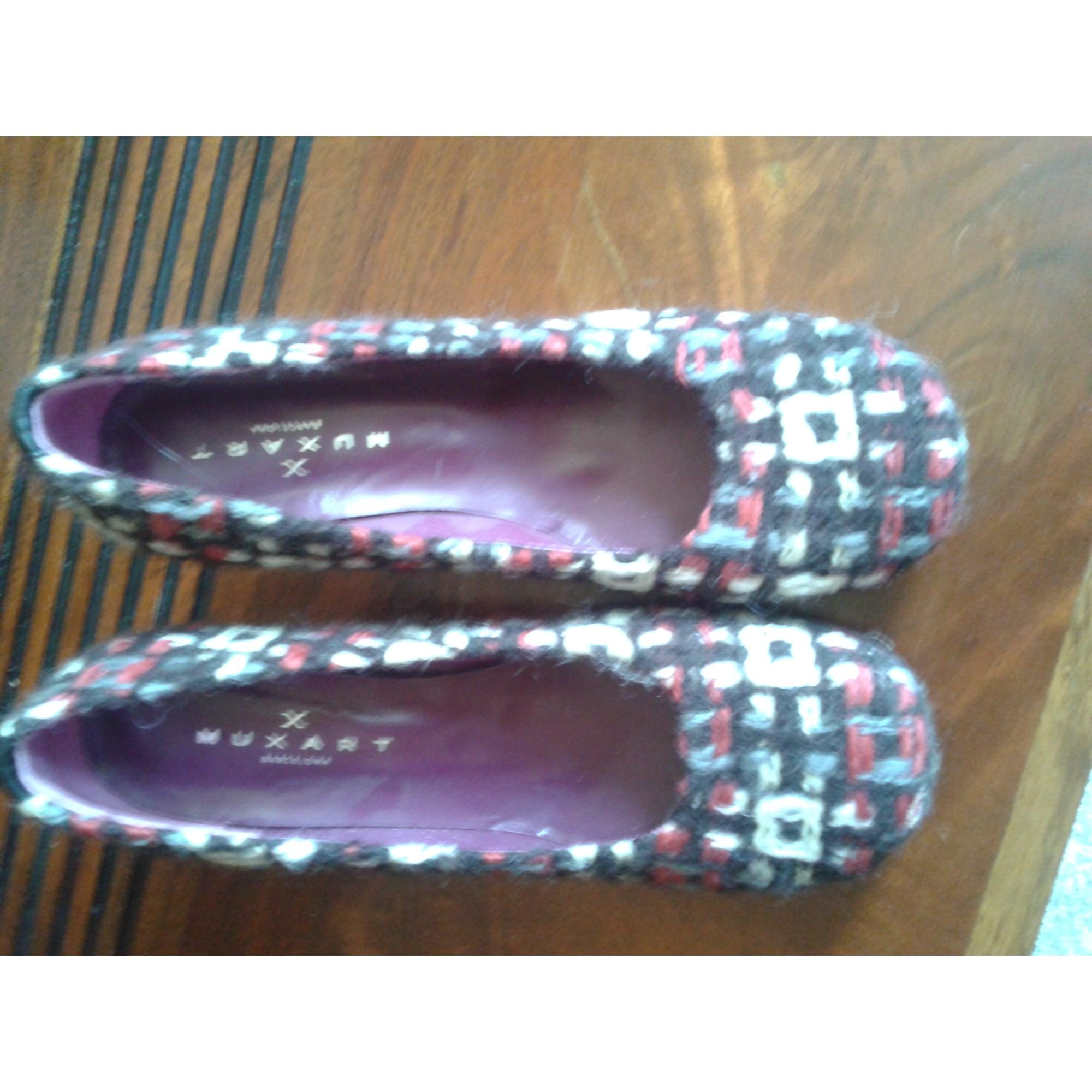 Escarpins MUXART 38 plusieur couleur creme noir rouge - 863289 722488edb791