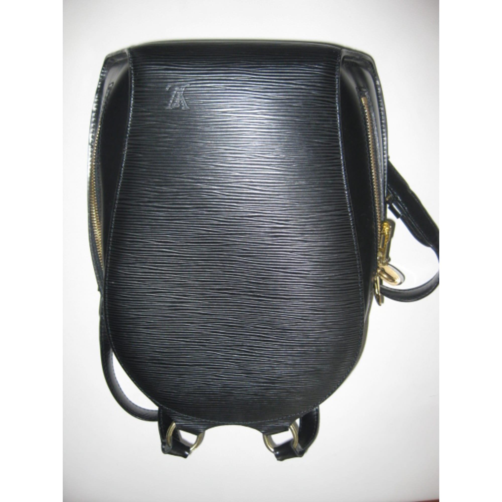 e1940107b2d Sac en bandoulière en cuir LOUIS VUITTON noir vendu par Nadine ...