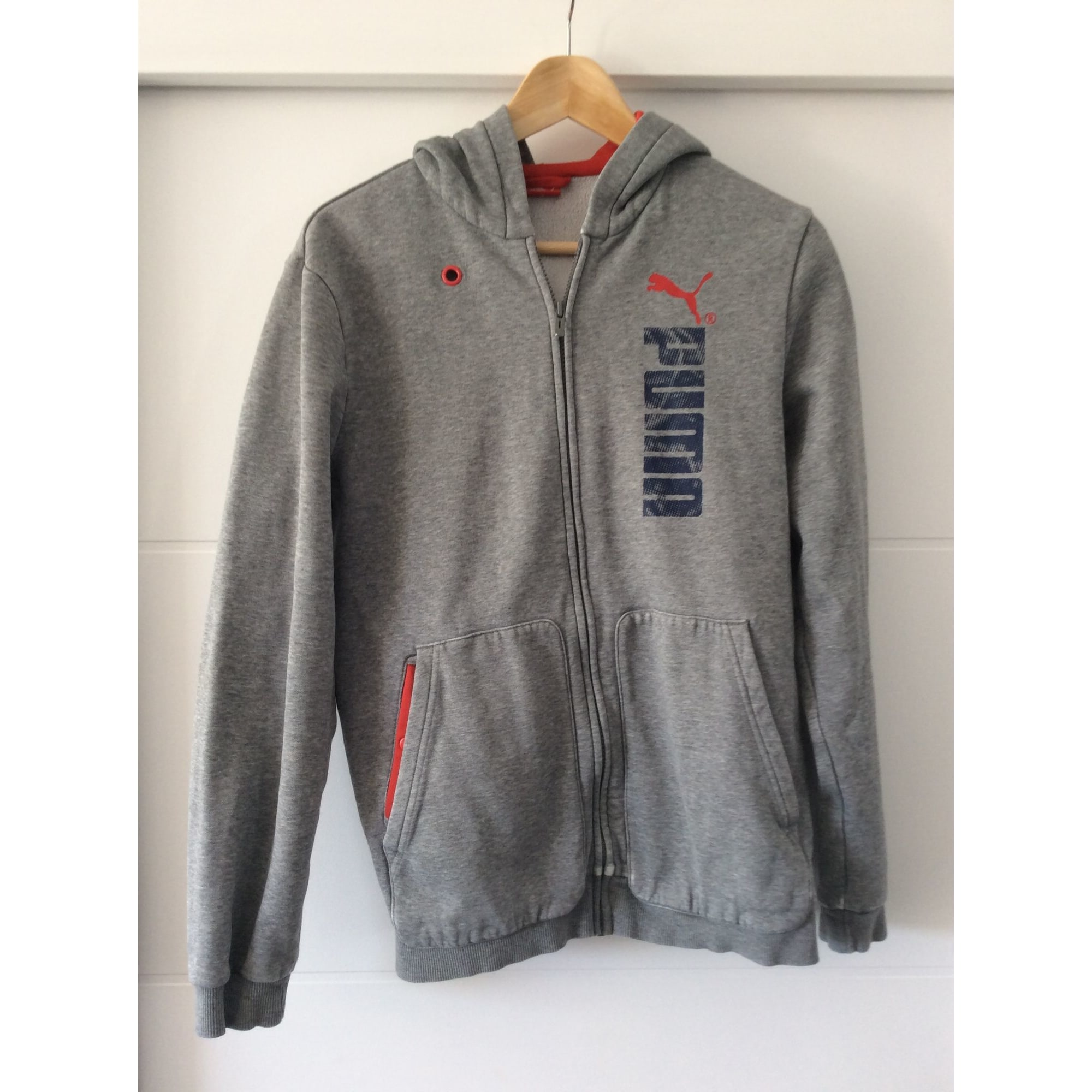 Sweat PUMA Gris, anthracite