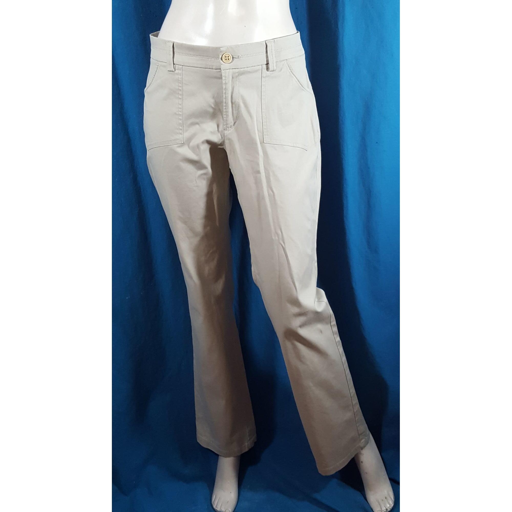 Pantalon droit NEW MAN Beige, camel