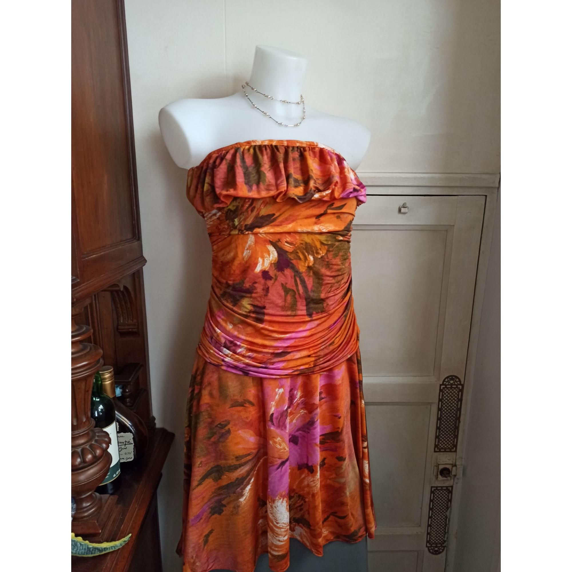Robe bustier VIDRIO Orange