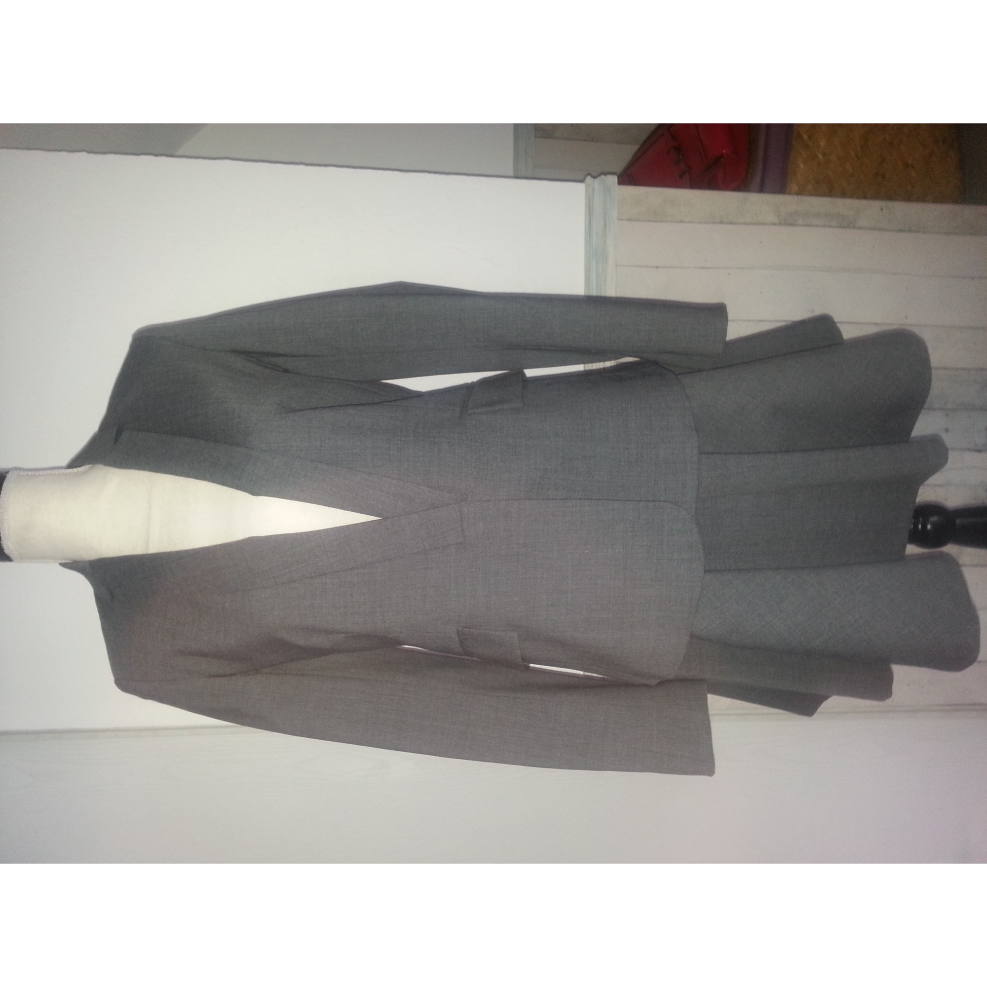 Tailleur jupe SINÉQUANONE Gris, anthracite