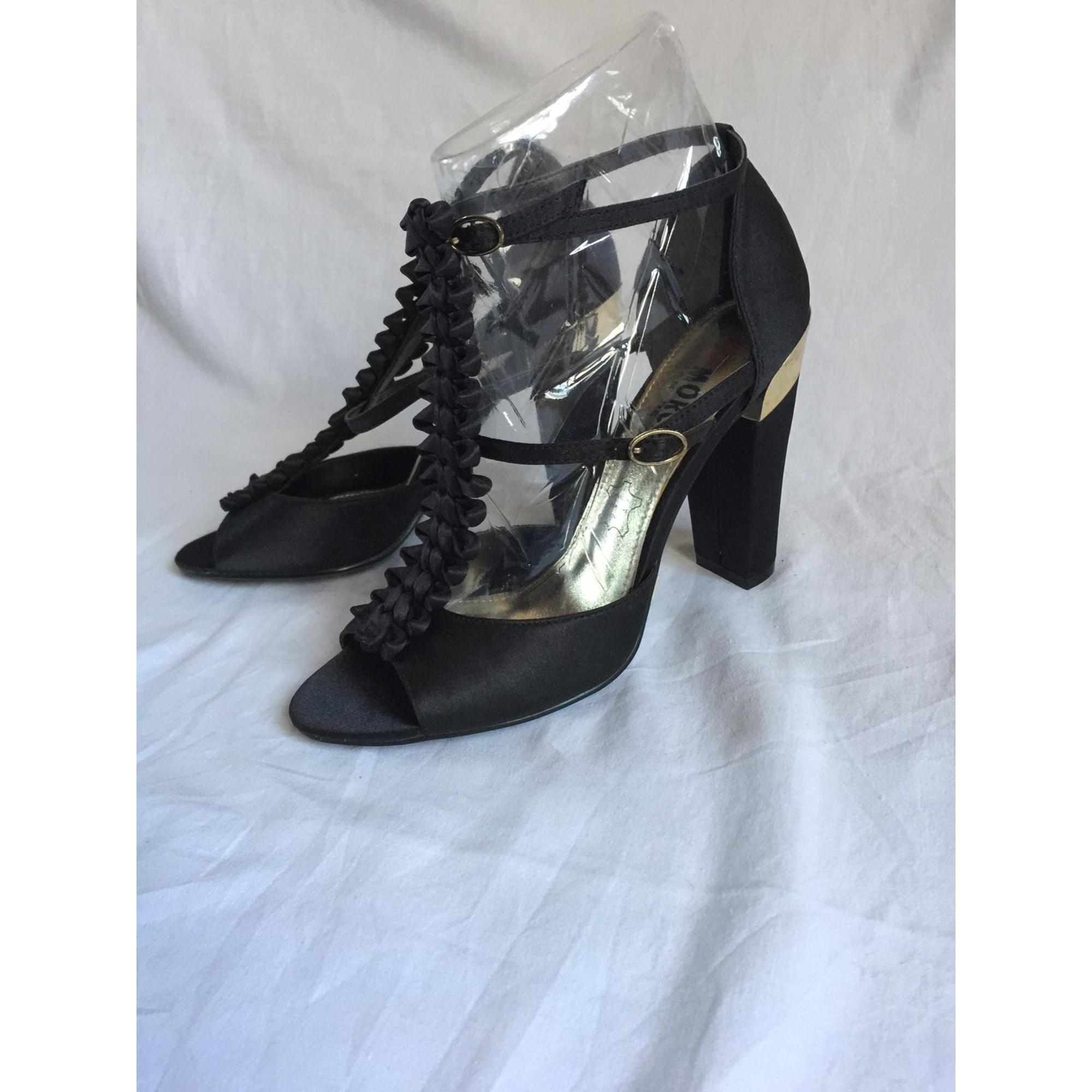 Sandales à talons MORGAN Noir