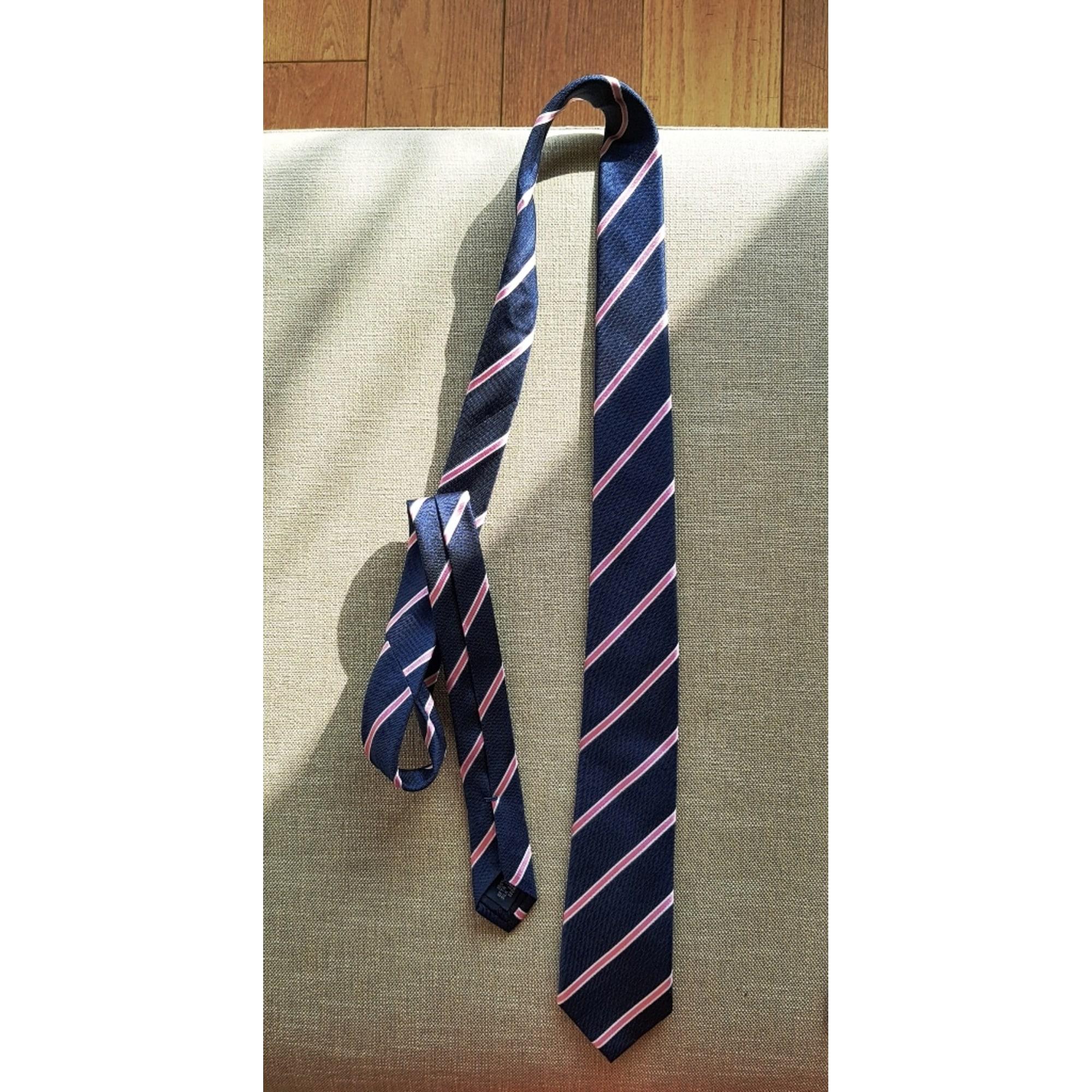 Cravate CAFÉ COTON Bleu, bleu marine, bleu turquoise