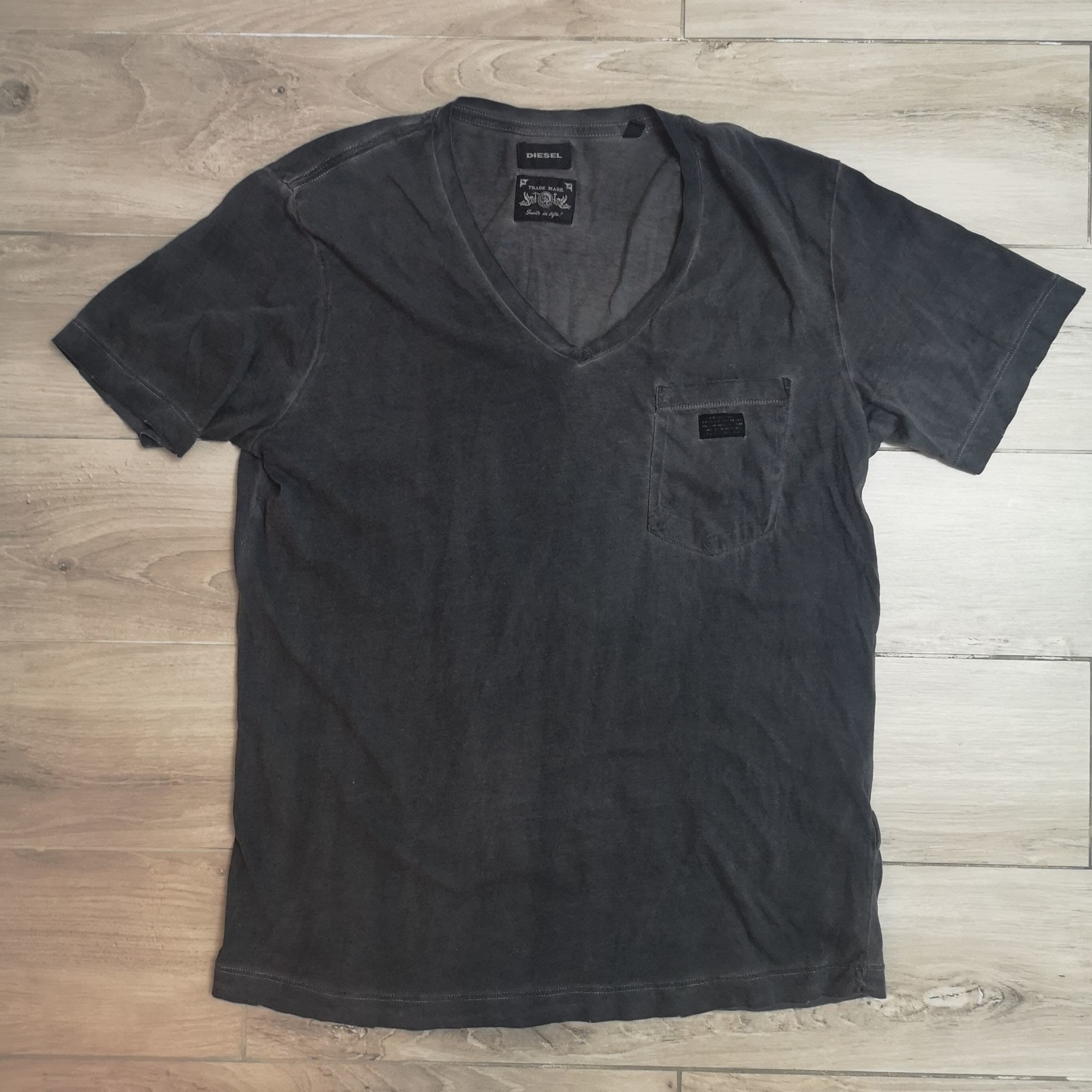 Tee-shirt DIESEL Gris, anthracite