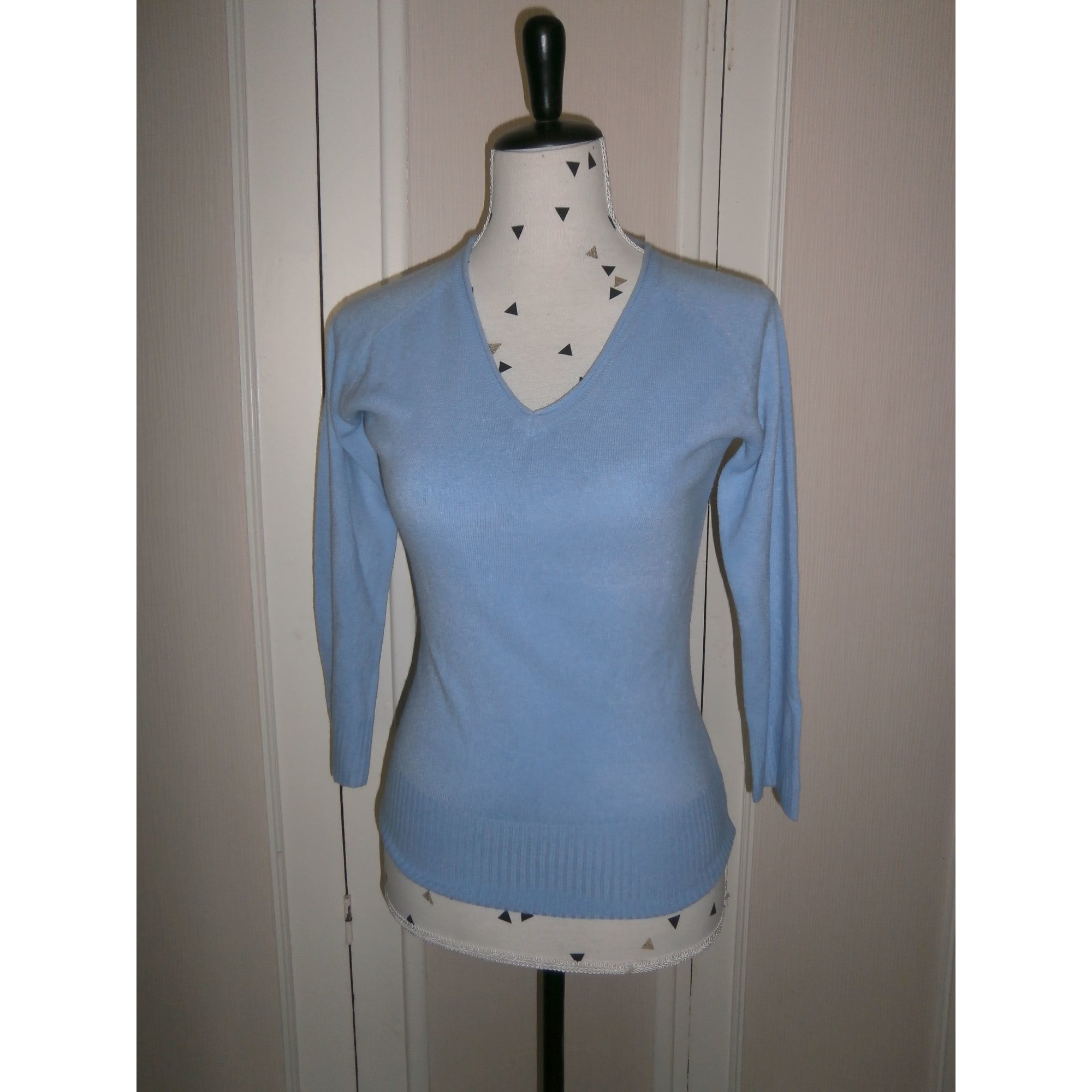 Pull ETAM Bleu, bleu marine, bleu turquoise